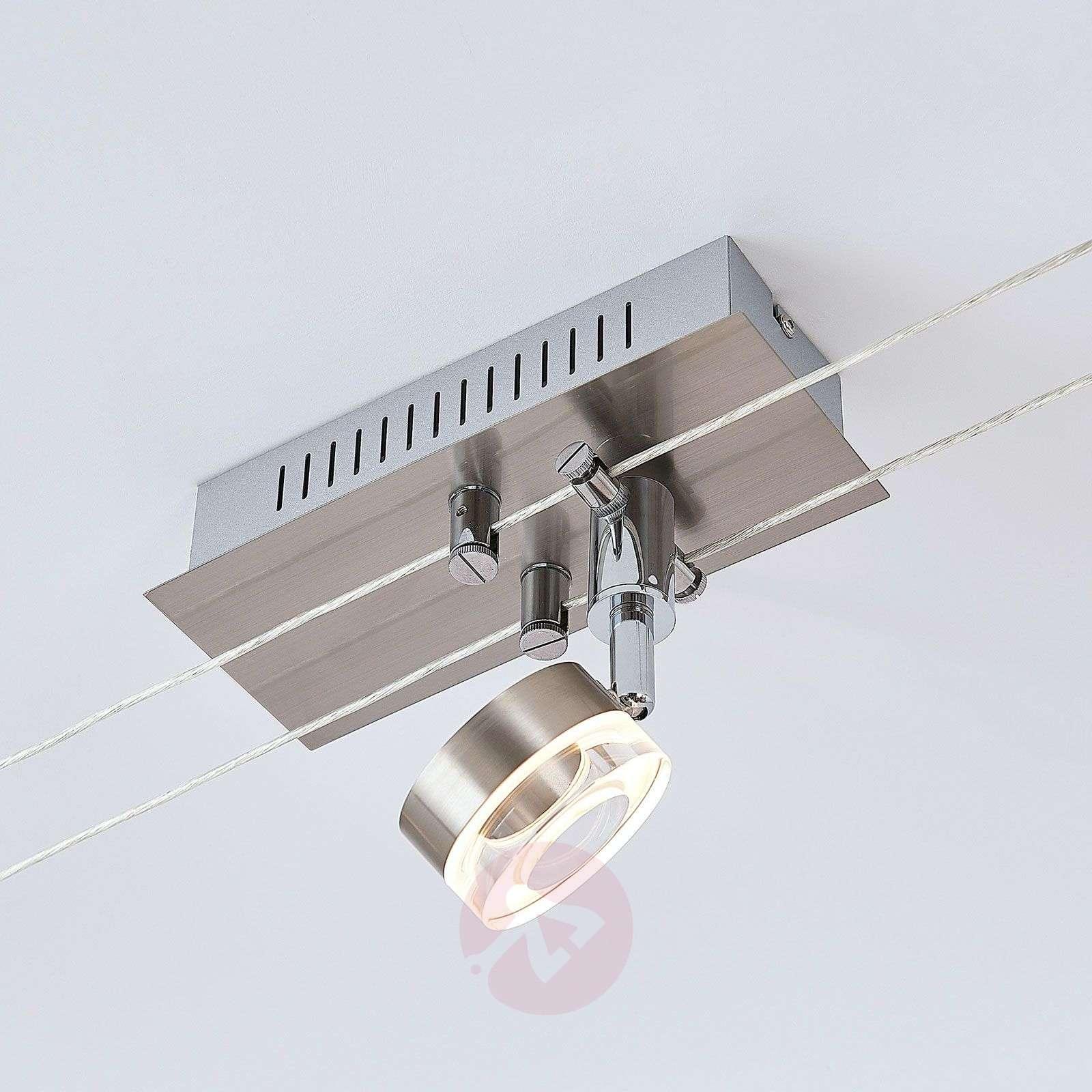 LED-vaijerijärjestelmä Valeska, 5-lamppuinen-9624405-02