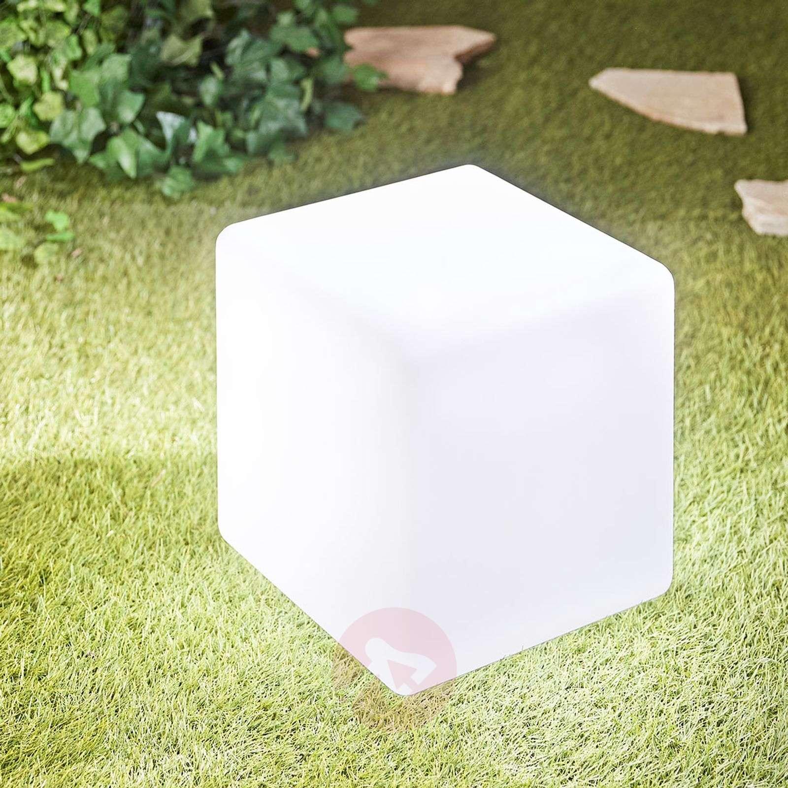 LED-valokuutio Insira ulkokäyttöön, 30 cm-6729019-01