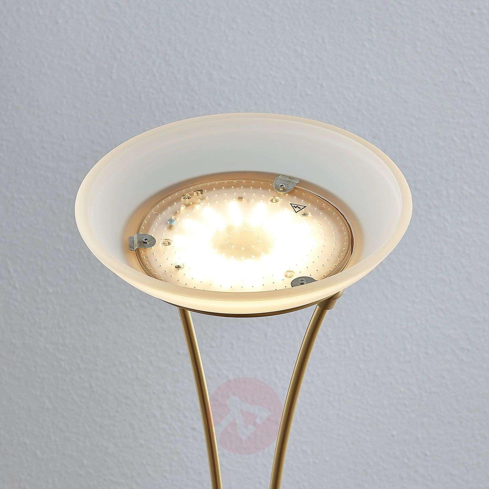 LED-ylösvalo Amadou, lukulamppu, messinki-9945372-01