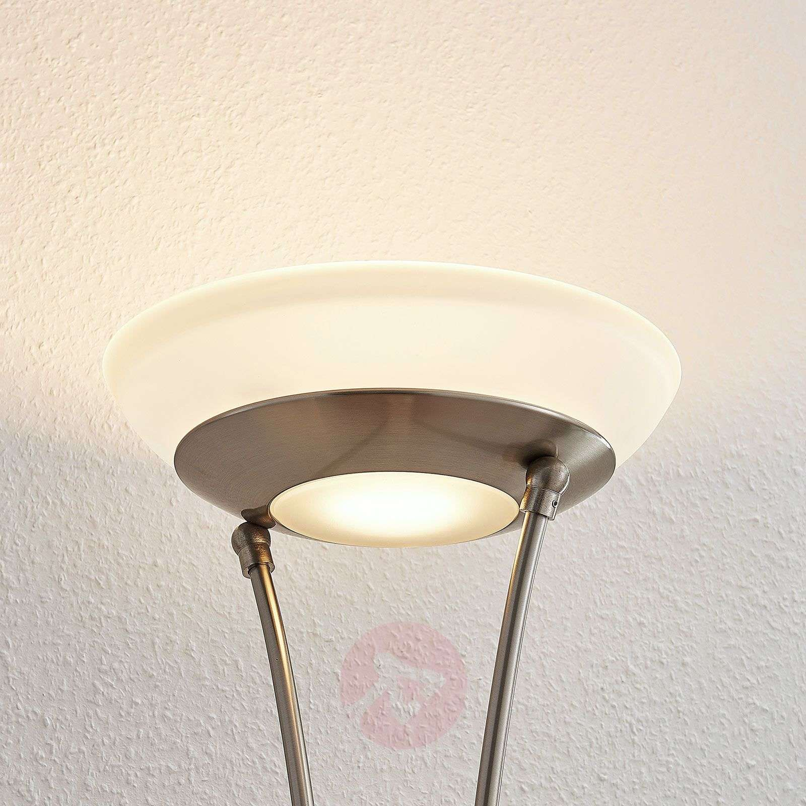 LED-ylösvalo Amadou, lukulamppu, nikkeli-9945370-01