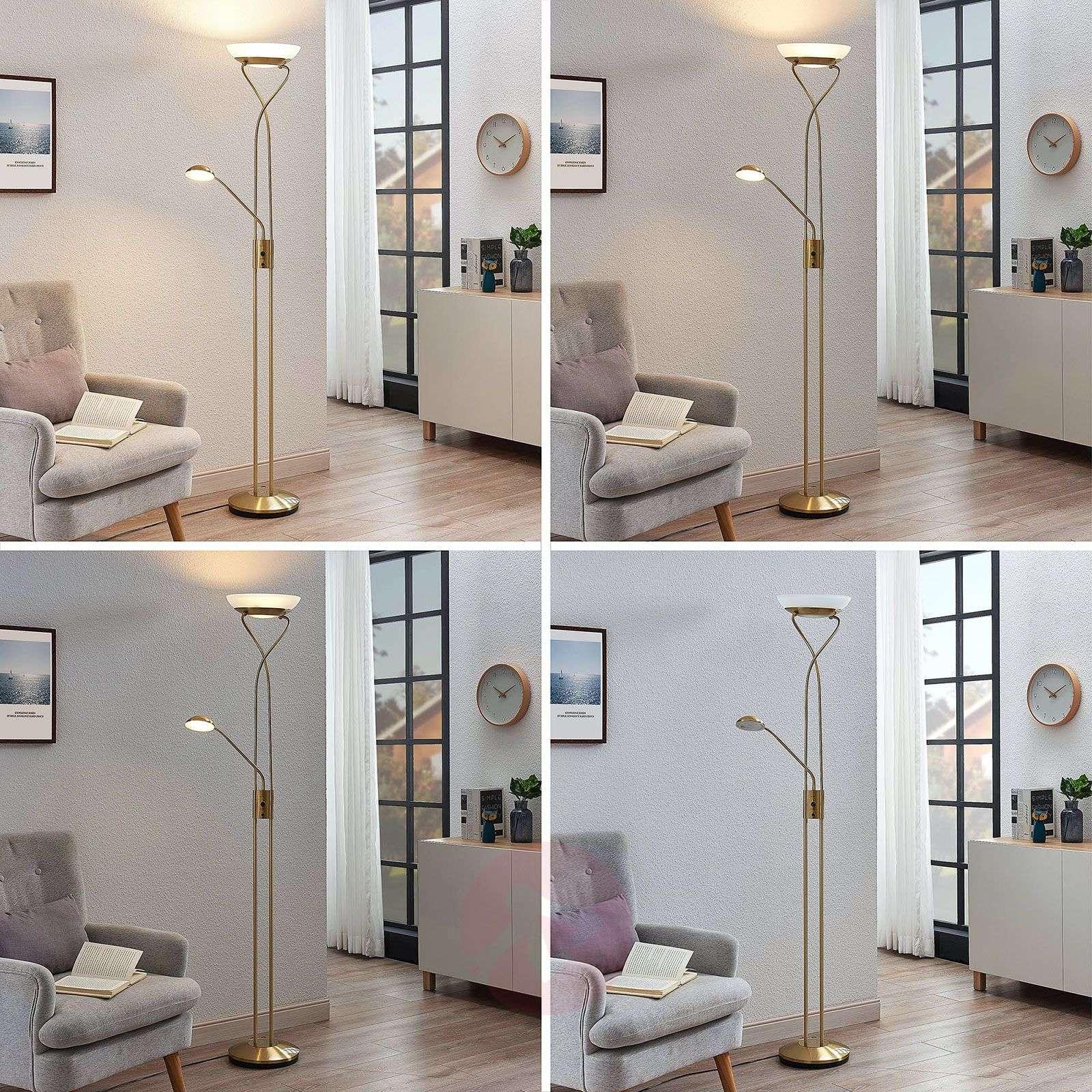 LED-ylösvalo Amadou, lukulamppu, nikkeli-9945374-01