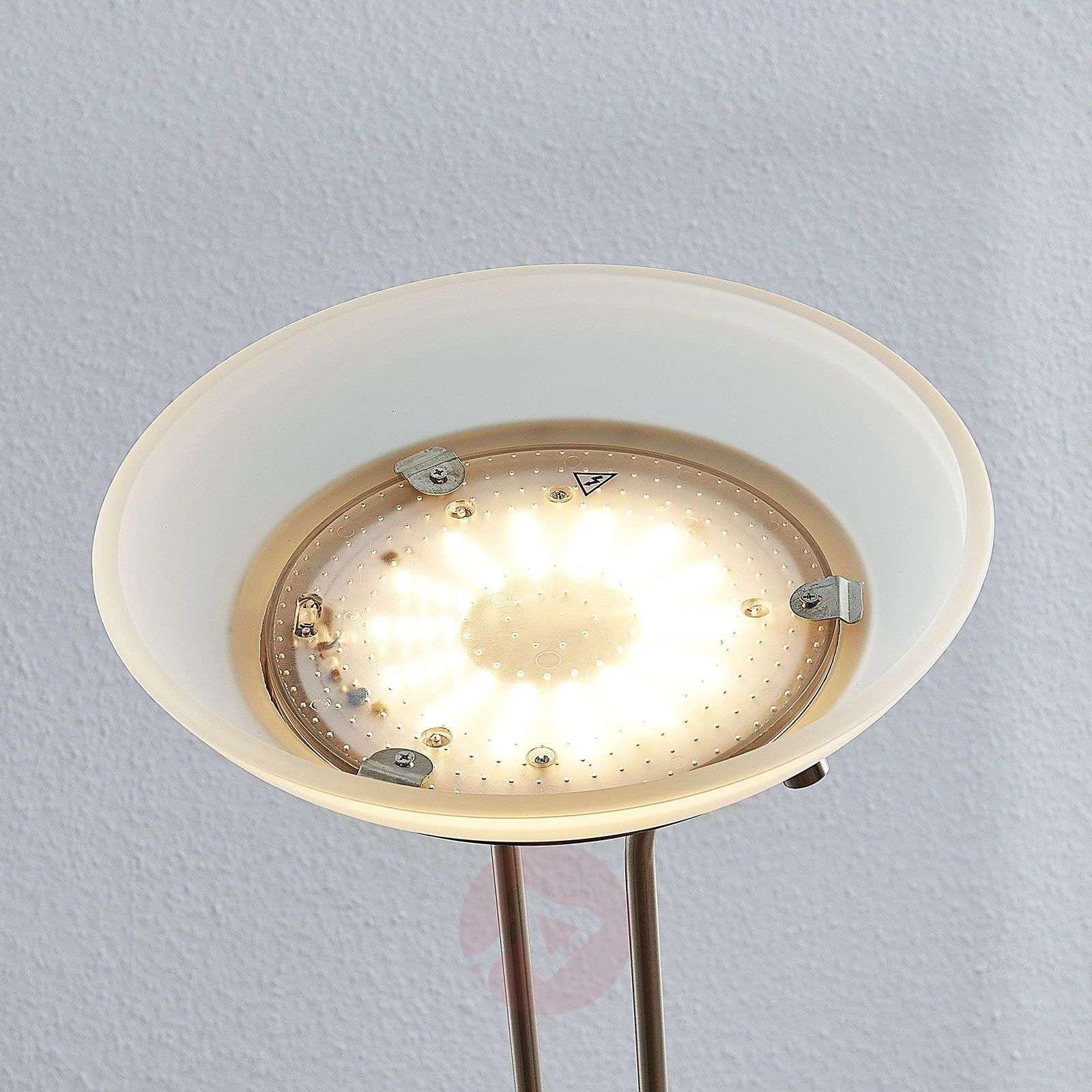 LED-ylösvalo Dimitra, lukulamppu, nikkeli-9945367-01