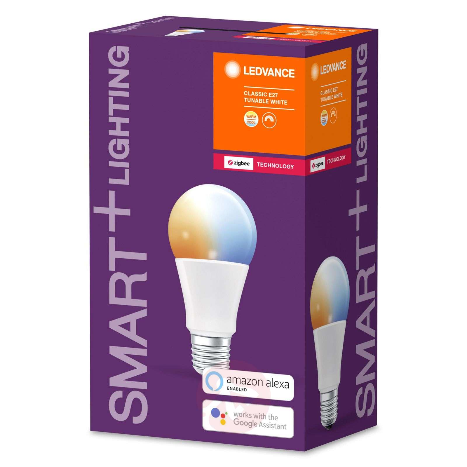 LEDVANCE SMART+ ZigBee E27 8,5W Classic 2700–6500K-6106204-02
