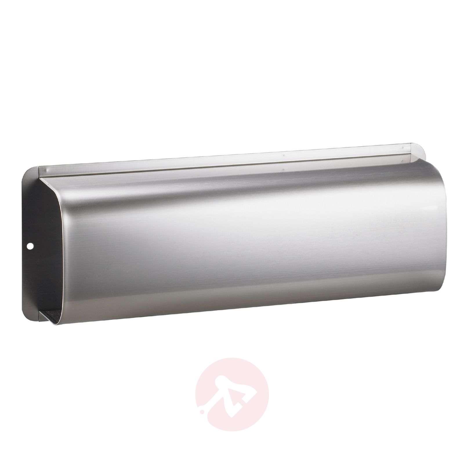Lehtilokero RAIN-postilaatikolle ruostumaton teräs-1003098-01