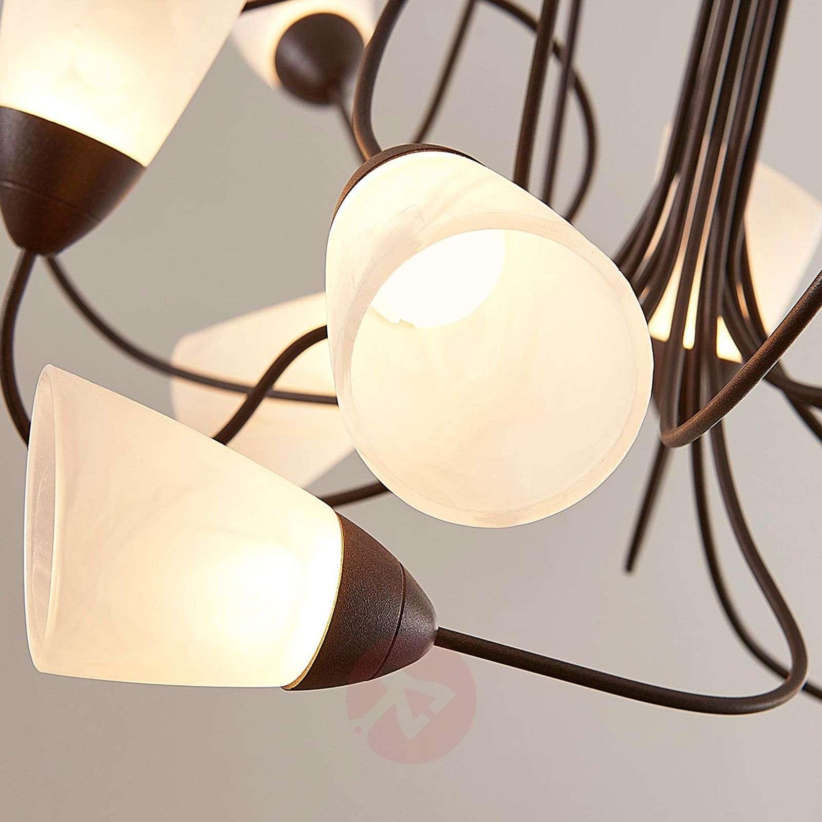 Leikkisältä vaikuttava LED-riippuvalaisin Hannes-9624042-01