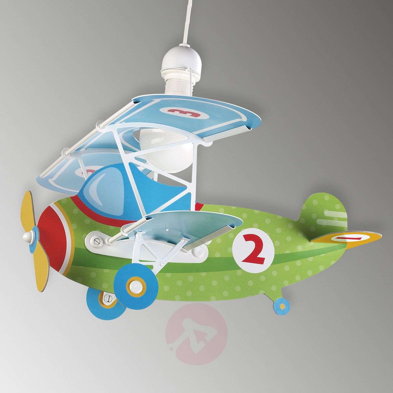 Lentokoneaiheinen riippuvalaisin Baby Plane-2507356-01