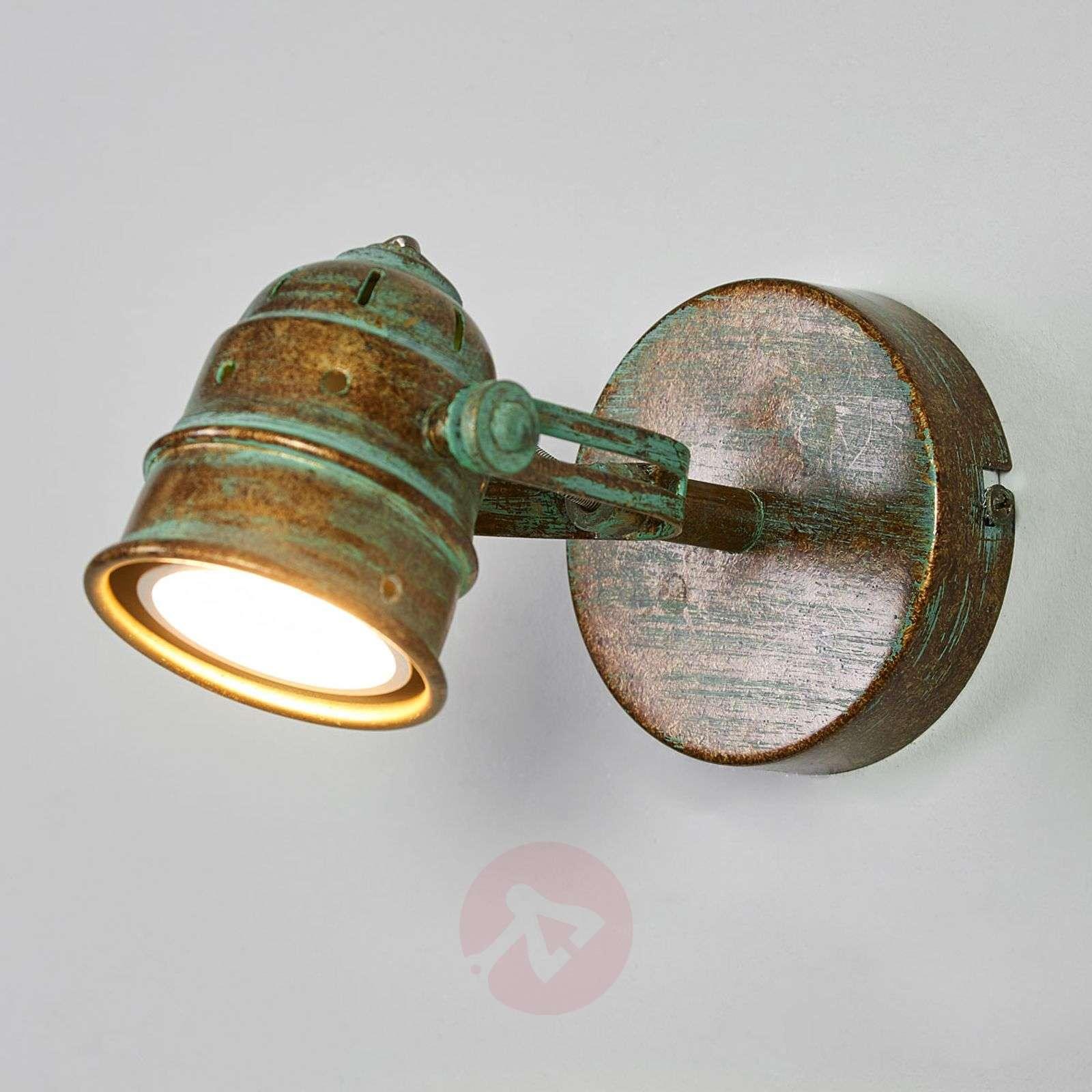Leonor kuparinvihreä LED-spotti-9639069-01