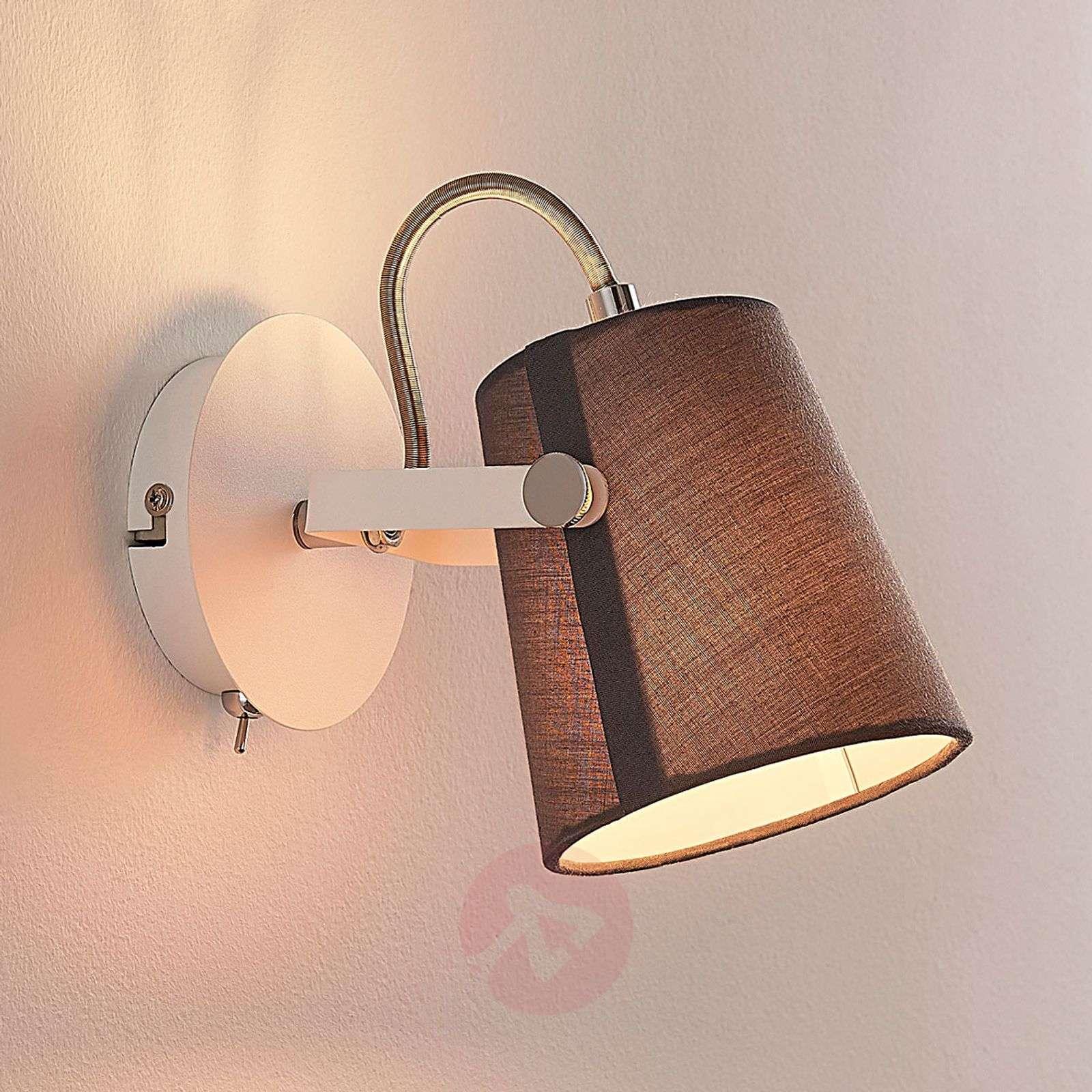 Levi yksilampp. tekstiilikohdevalaisin harmaana-9624034-01