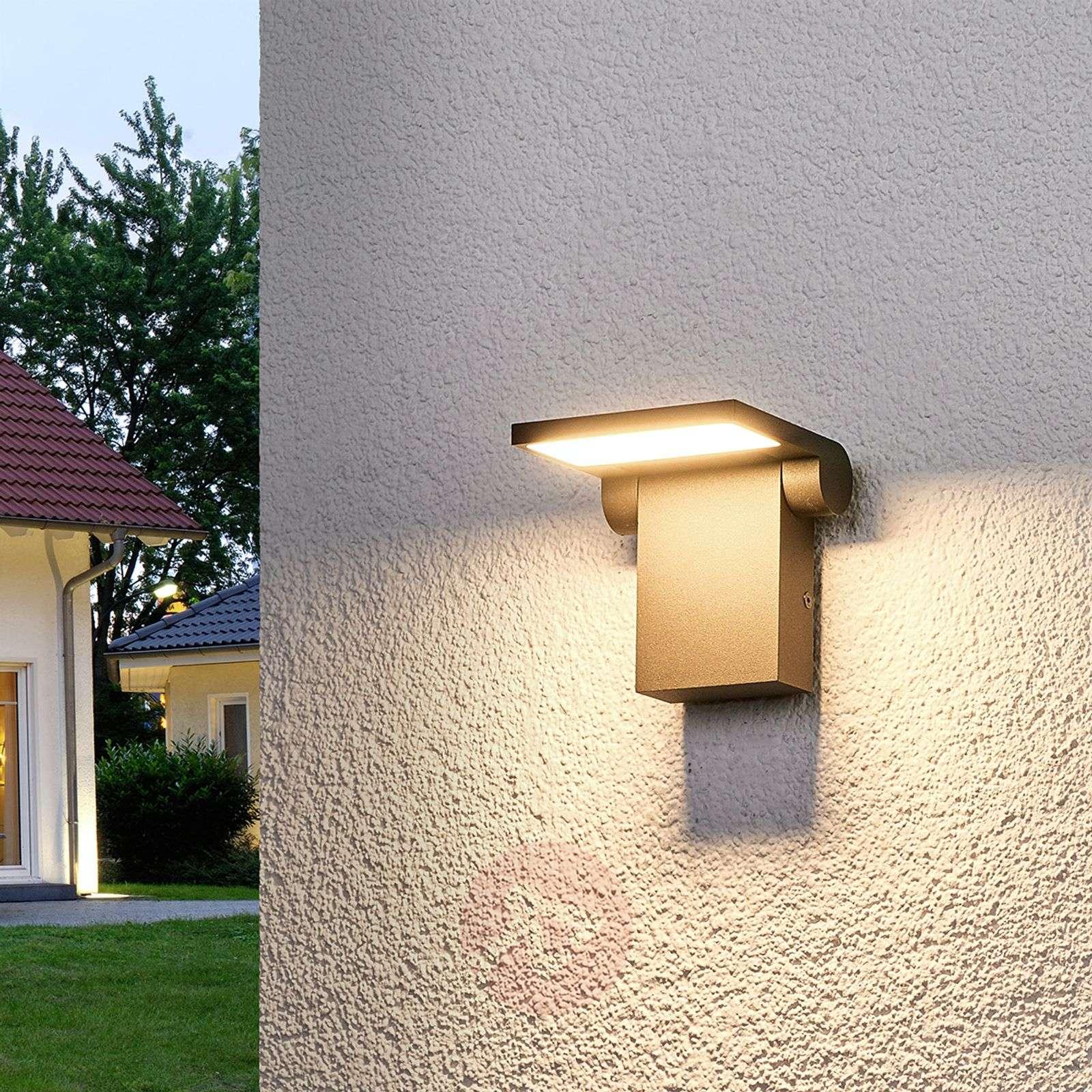 Liikuteltava LED-ulkoseinävalaisin Marius-9619076-02