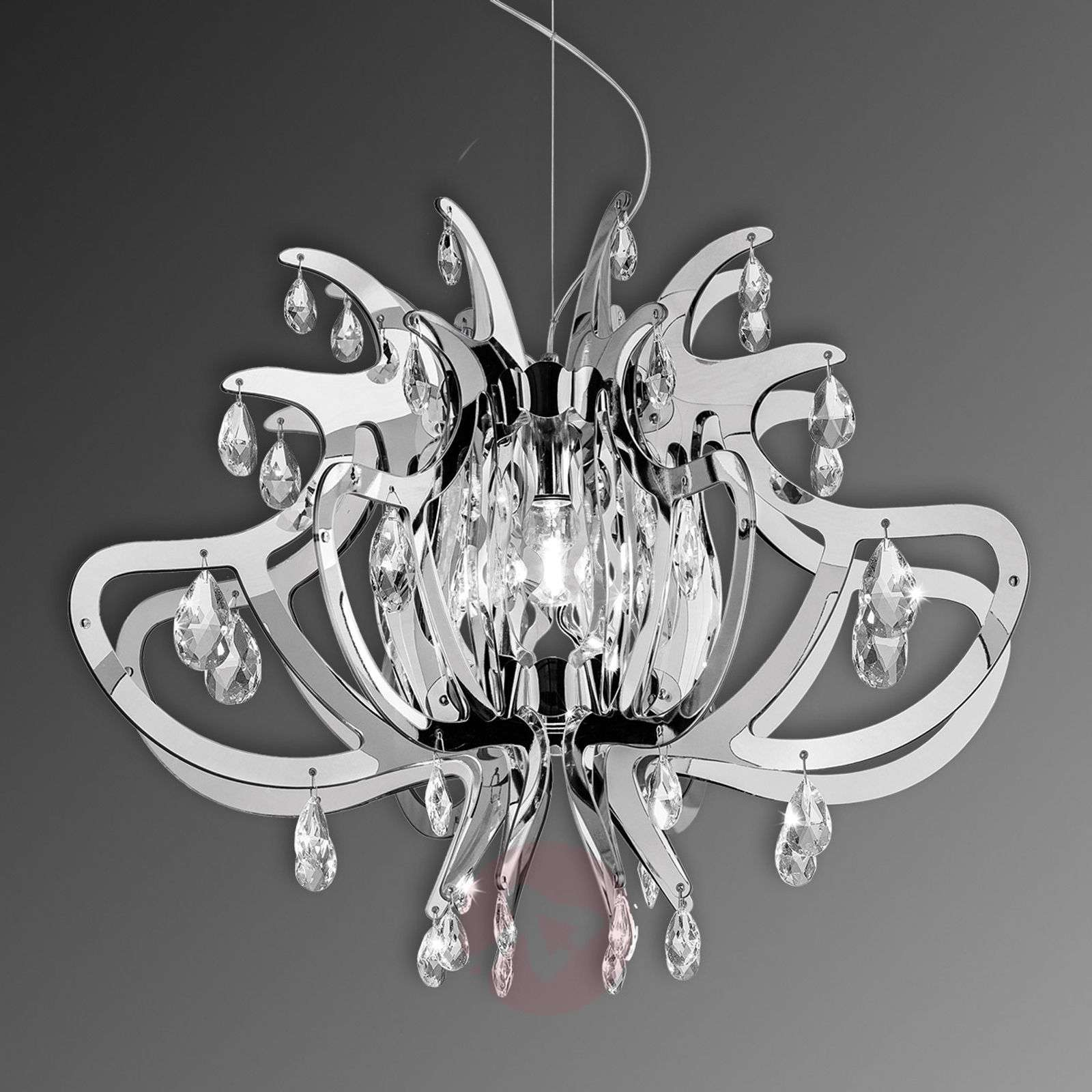 Lillbet hopeanvärinen design-riippuvalaisin-8503241-01