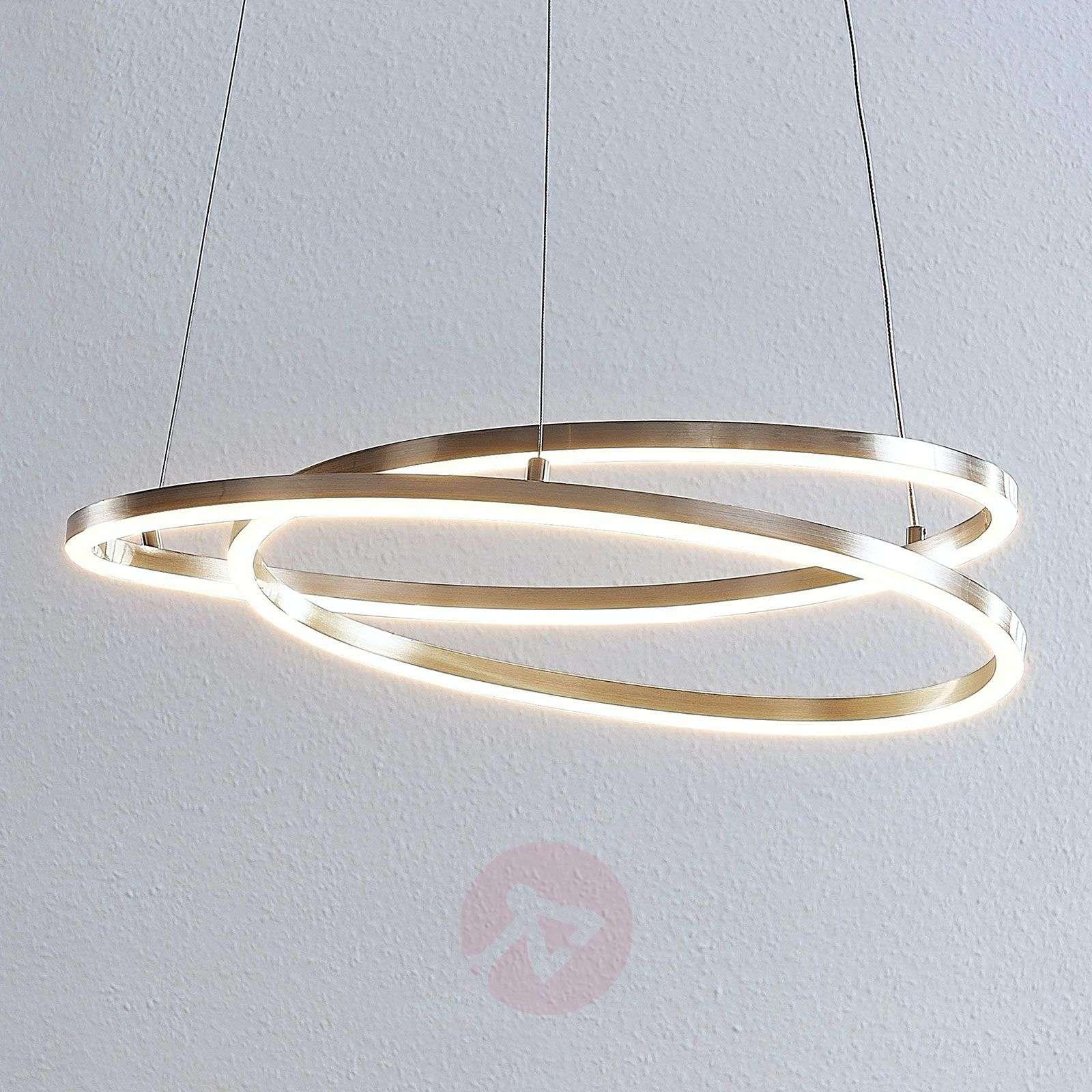 Lindby Davian LED-riippuvalaisin, nikkeli-9639137-02