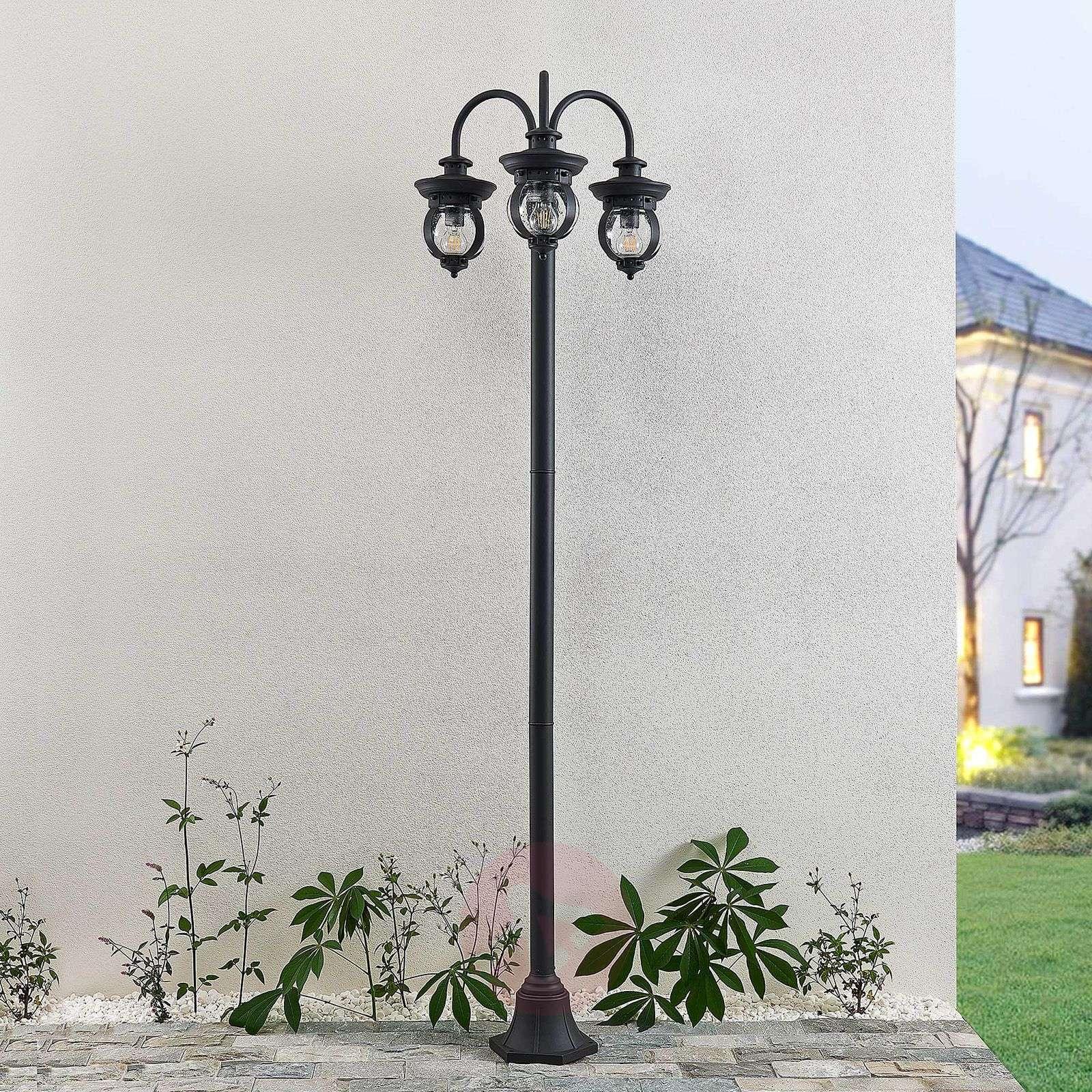 Lindby Farley-pylväsvalaisin, 3-lamppuinen-9630096-02