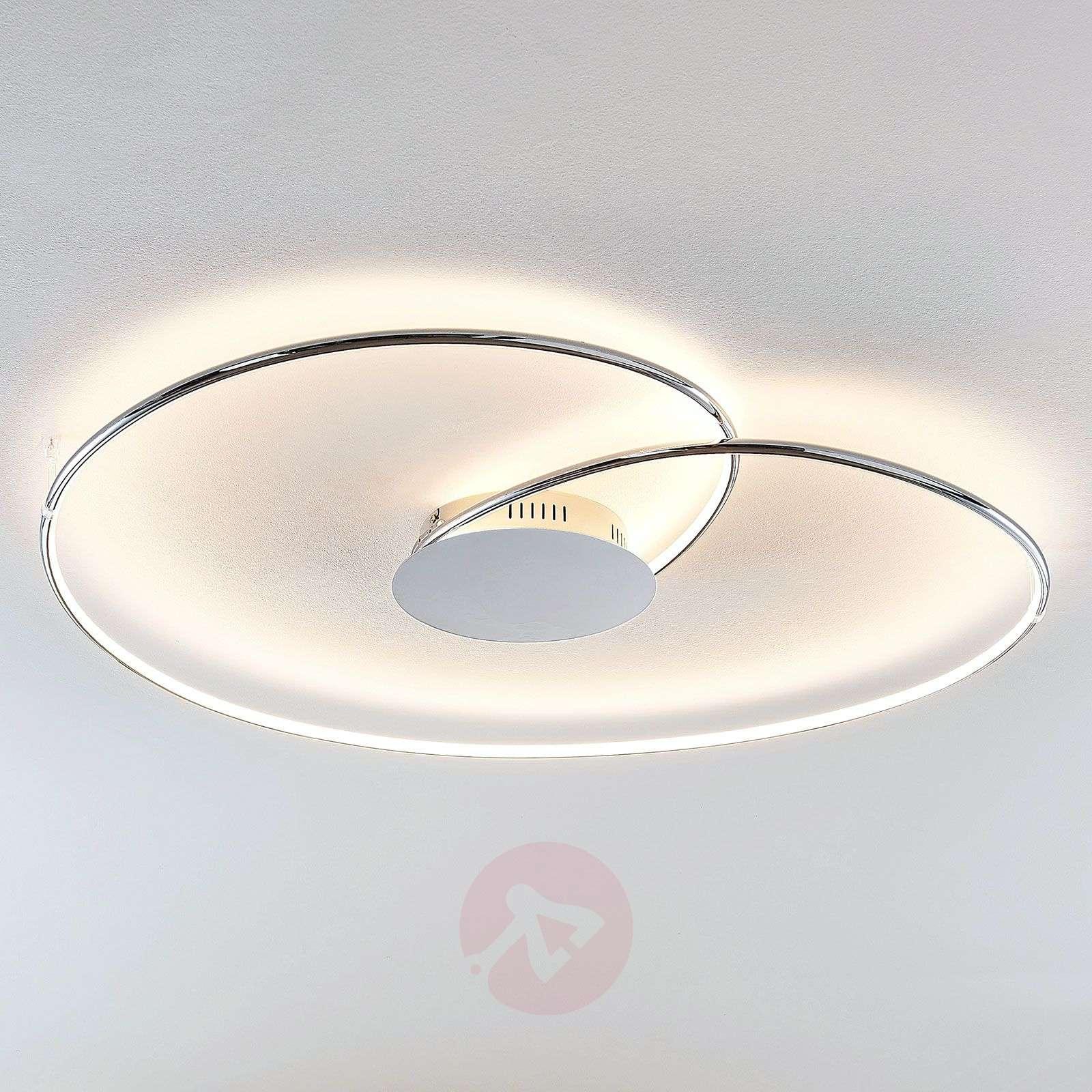 Lindby Joline LED-kattovalaisin, kromi, 90 cm