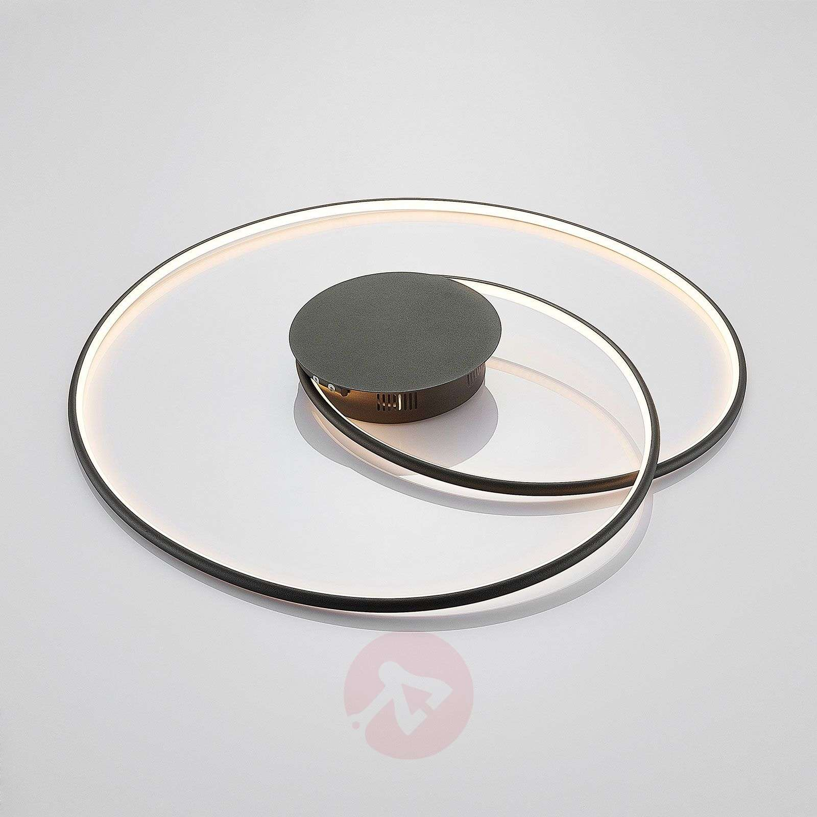 Lindby Joline LED-kattovalaisin, musta, 70 cm-9639131-02