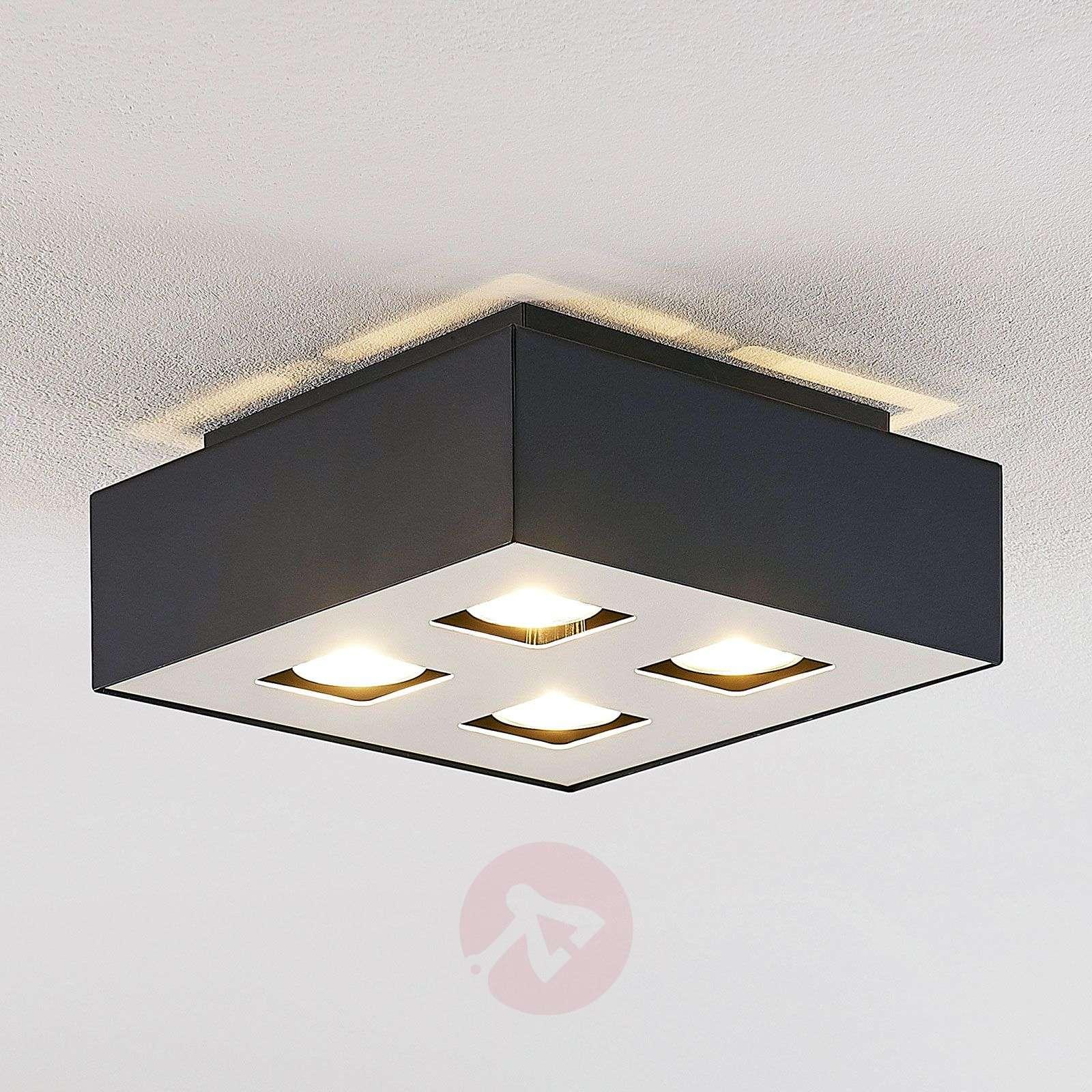 Lindby Kasi kattovalaisin 4-lamppuinen, 24 x 24 cm