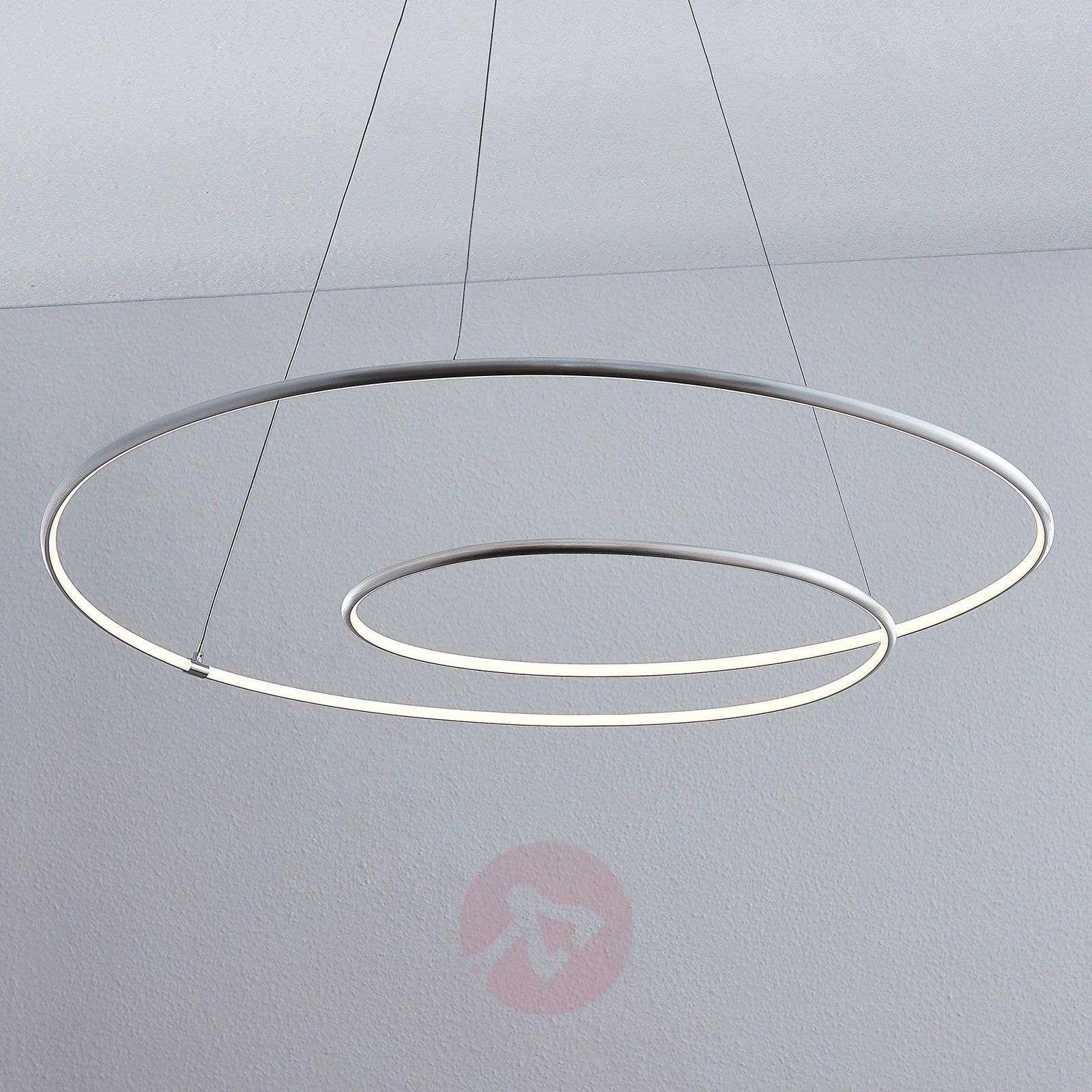 Lindby Lucy LED-riippuvalaisin, 90 cm, alumiini-9639147-02
