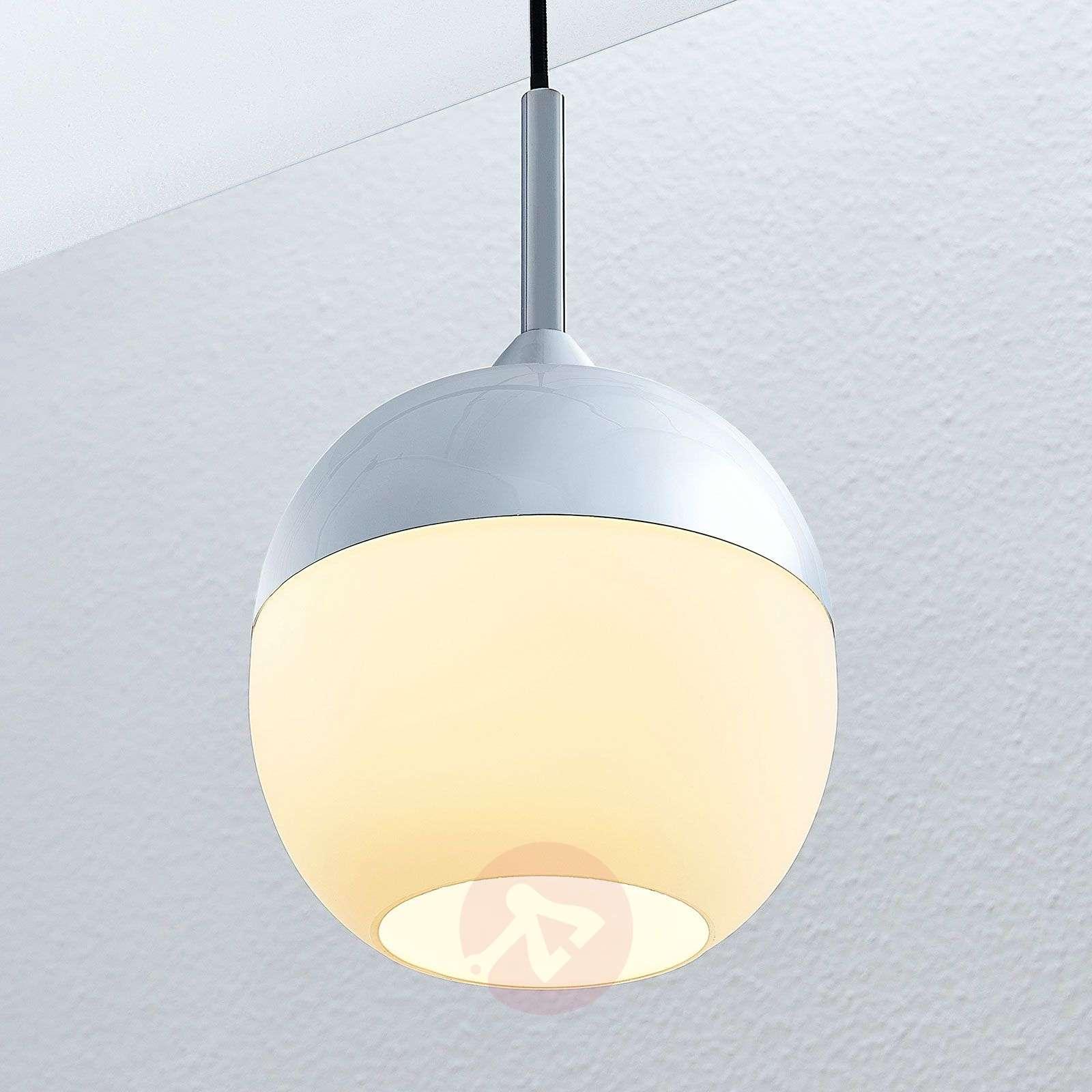 Lindby Rangina riippuvalaisin, kromi, 1-lamppuinen-9624699-01