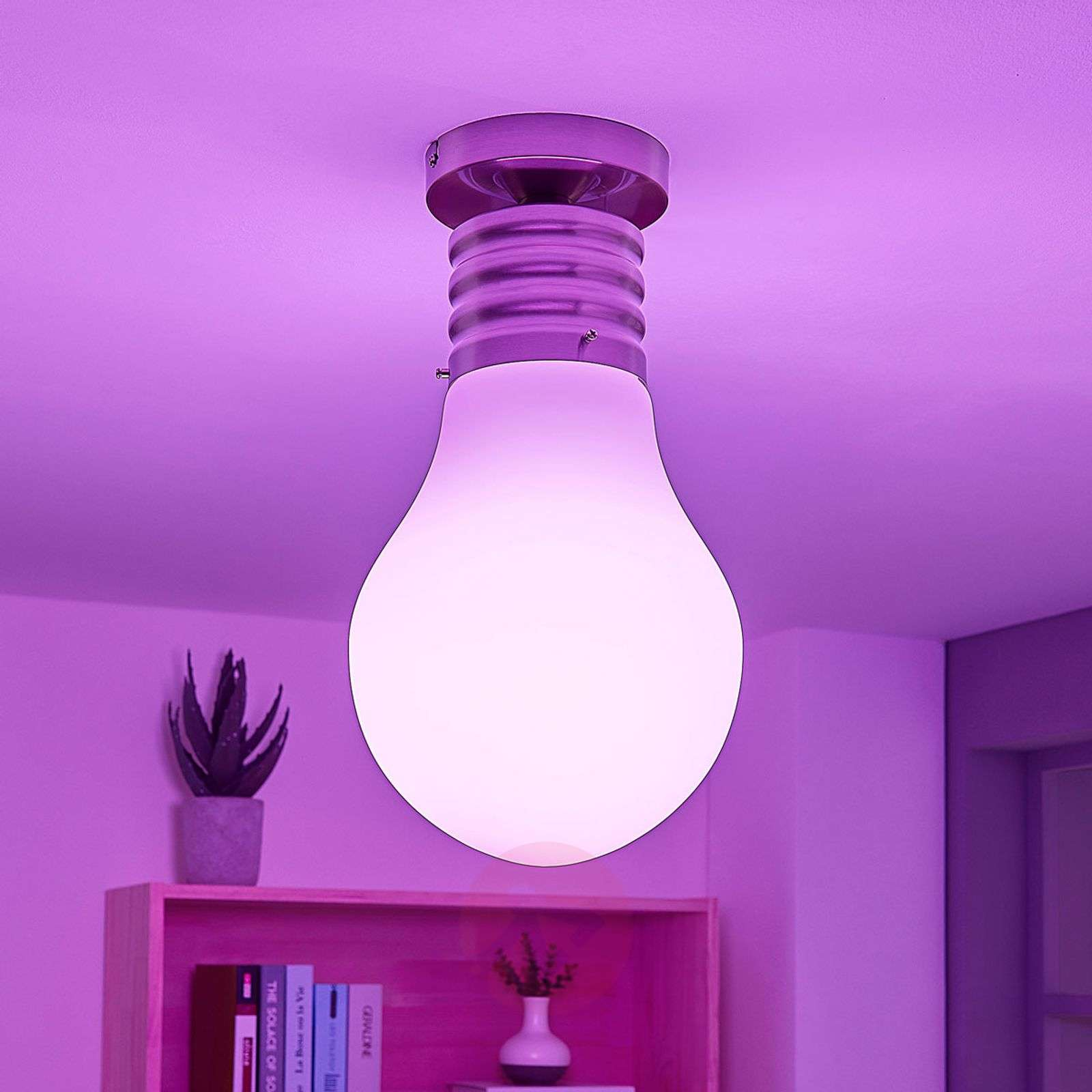 Lindby Smart LED-kattovalaisin Mena, RGB, app-9624107-02