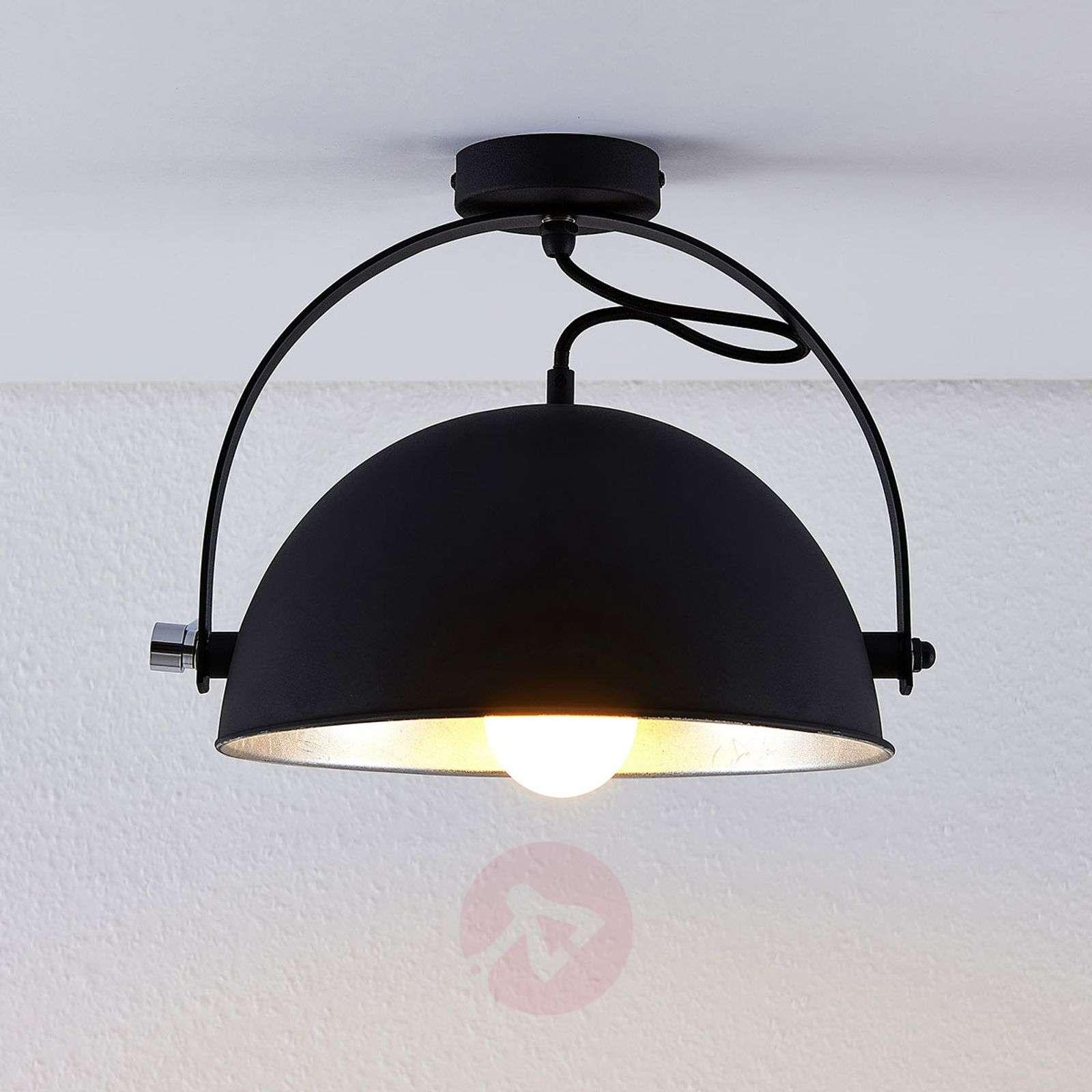 Lindby Smart LED-kattovalaisin Muriel, hopea-9624231-02