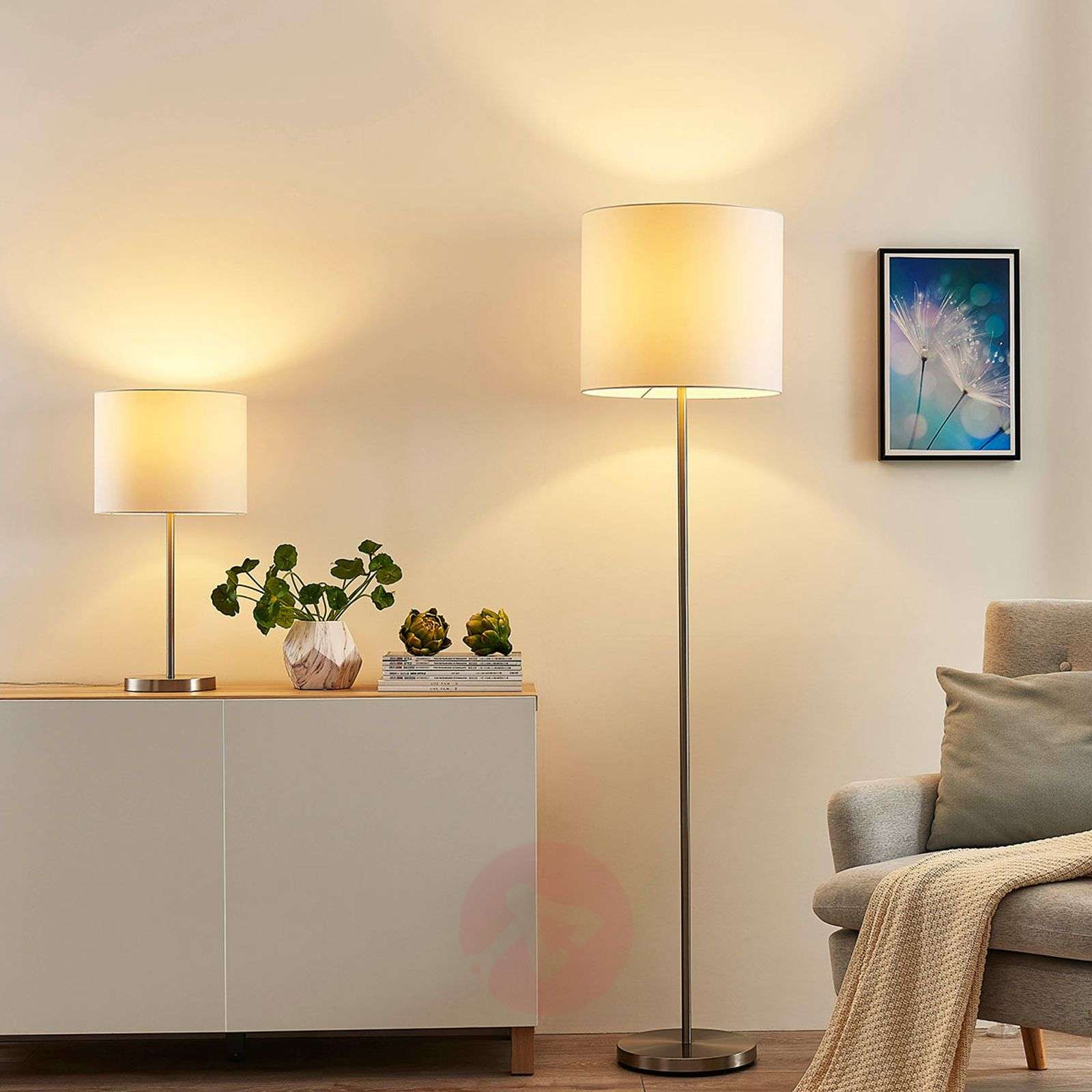 Lindby Smart LED-lattiavalaisin Everly app, RGB-9624101-01
