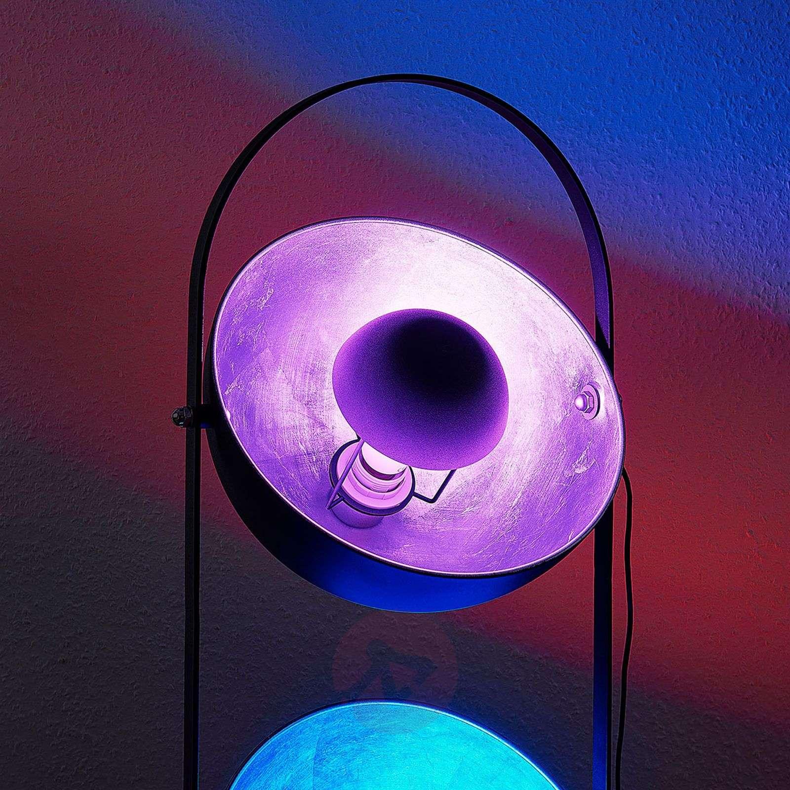Lindby Smart LED-pöytävalaisin Muriel 3-lamp hopea-9624227-03
