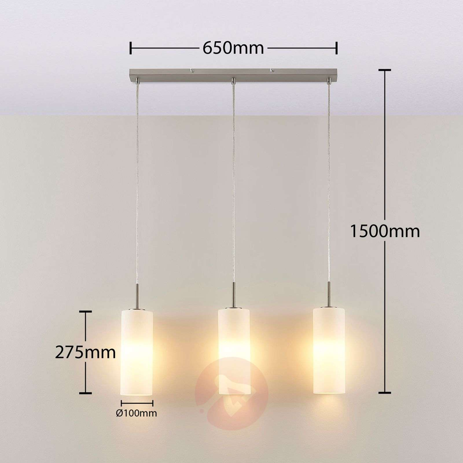 Lindby Smart LED-riippuvalaisin Felice, app-9624104-02