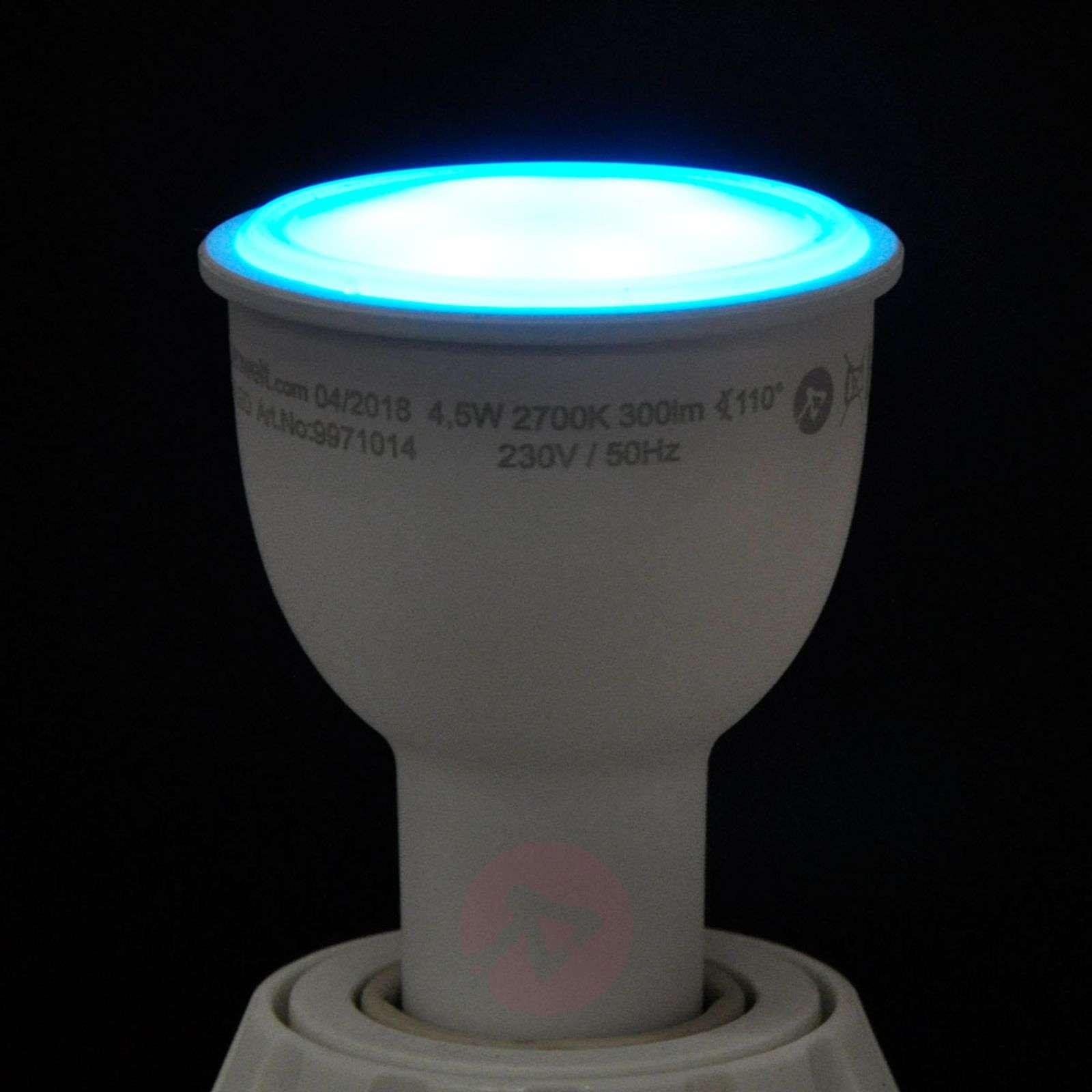 Lindby Smart LED-valonheitin 110degree GU10 4,5W RGB-9971014-01