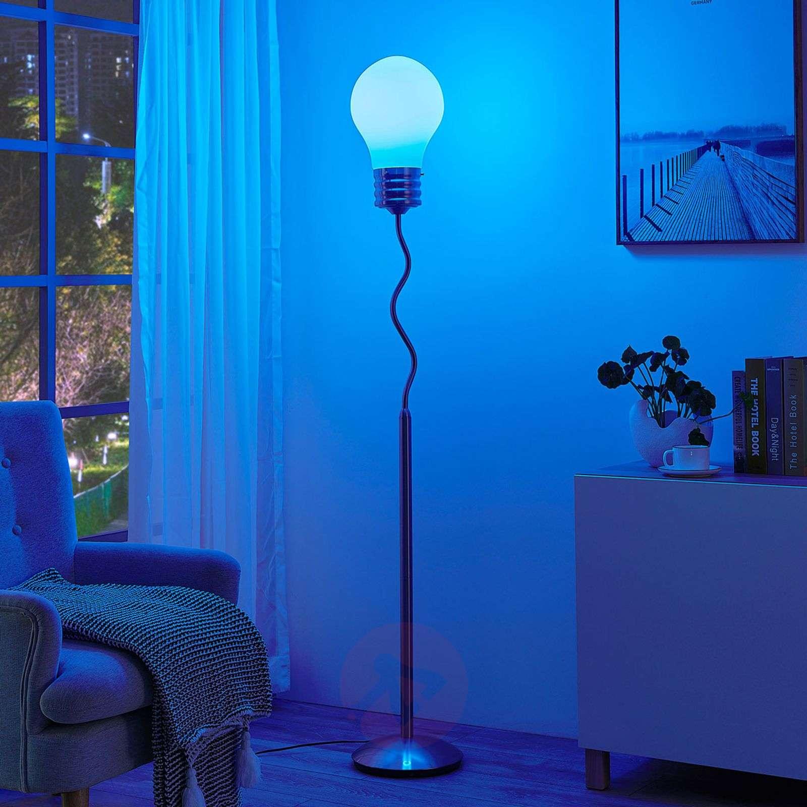 Lindby Smart RGB-LED-lattiavalaisin Mena-9624109-02