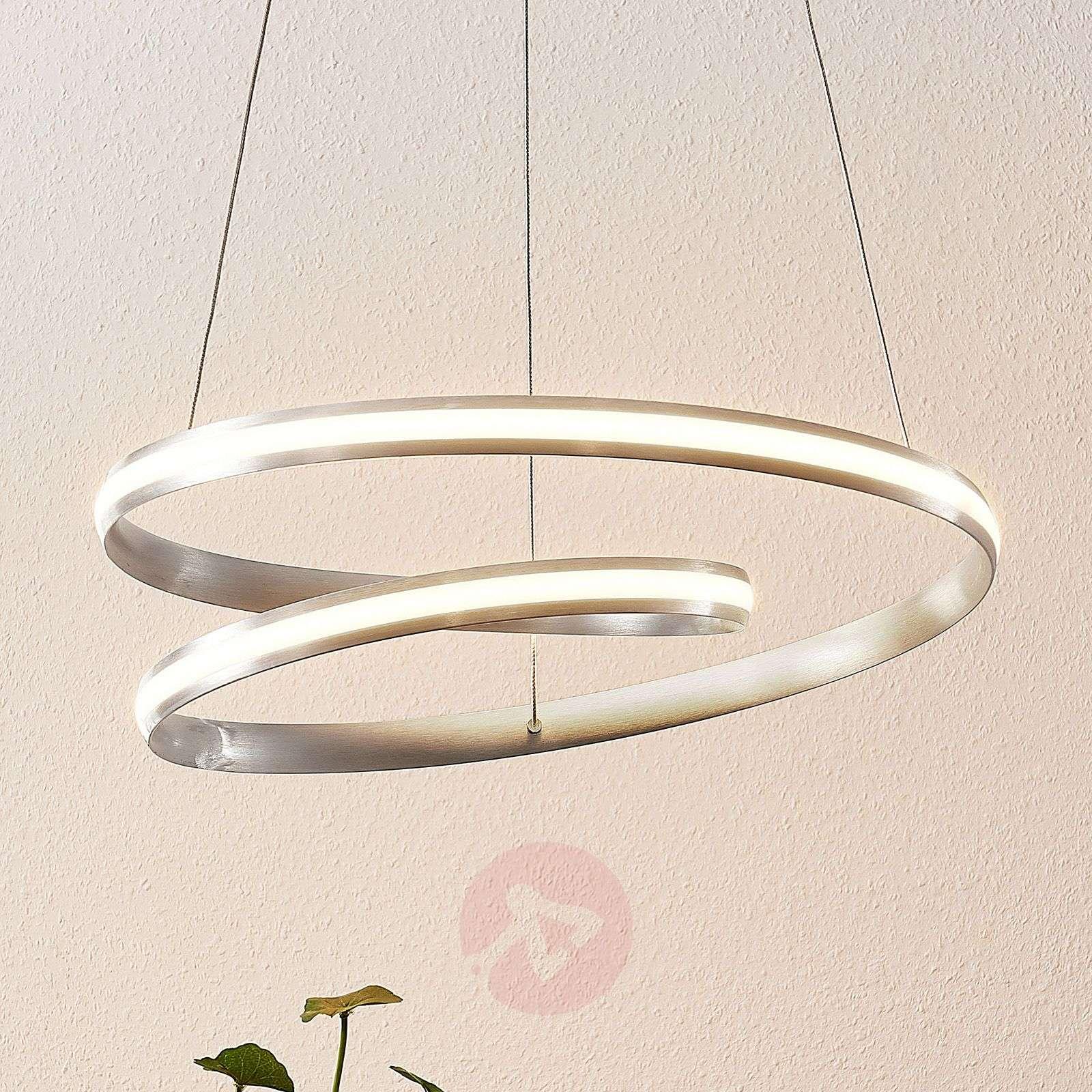 Lindby Smart Verio-LED-riippuvalo, korkeus 16 cm-9985097-02
