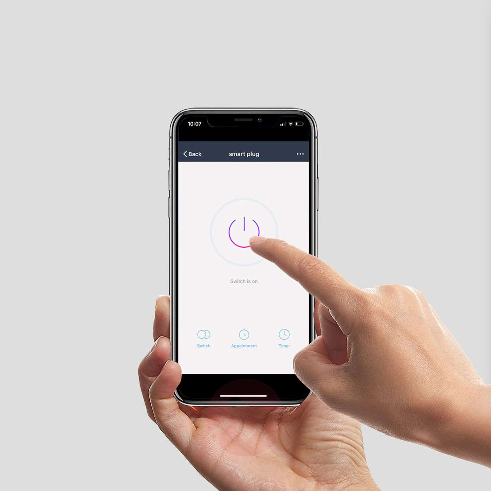 Lindby Smart wifi-pistorasia, sovelluskäyttöinen-9971015-02