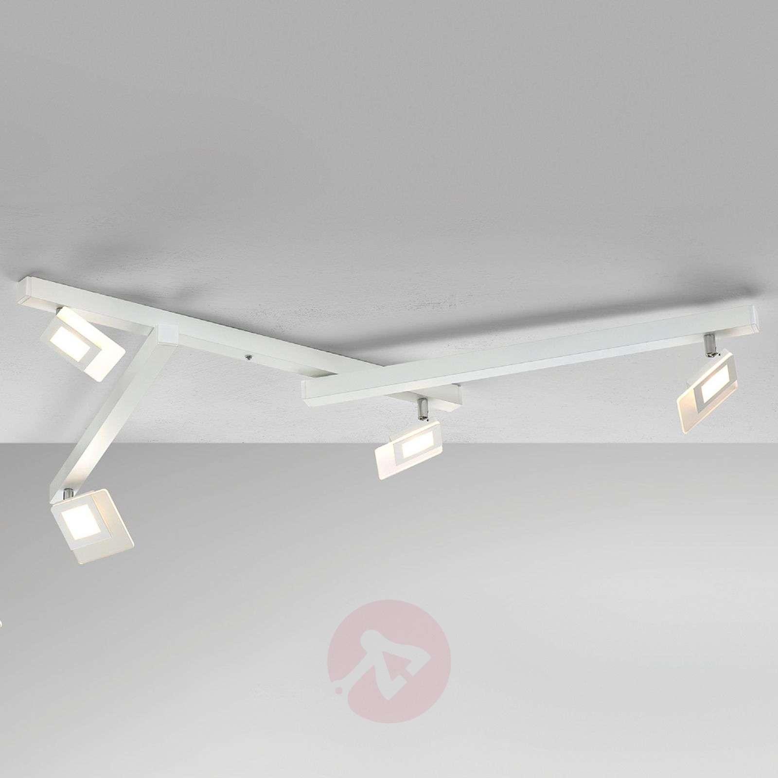 Line – valkoinen LED-kattovalaisin, nelilamppuinen-1556068-01