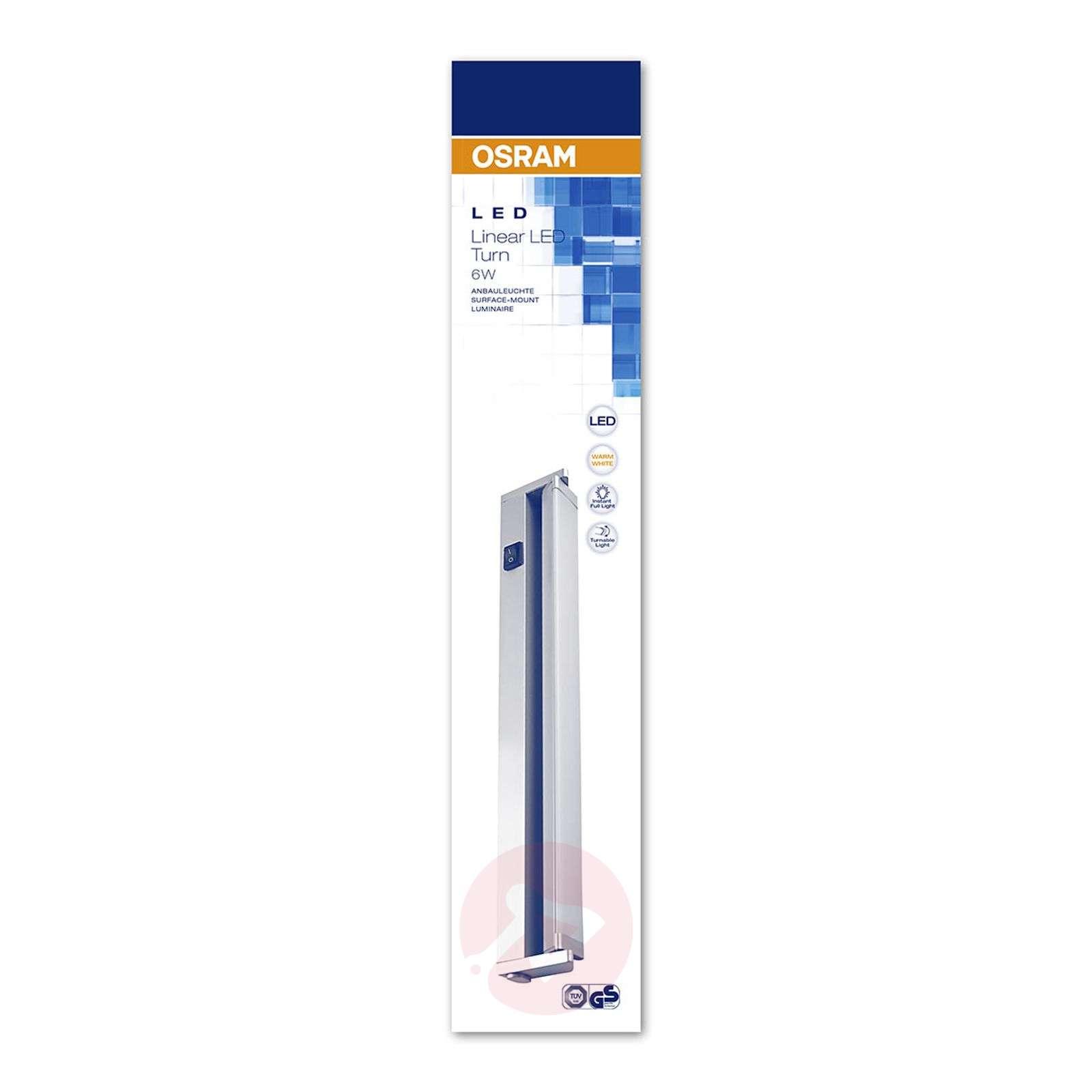 Linear Turn kallistettava LED-kaapinalusvalaisin-7261330-01