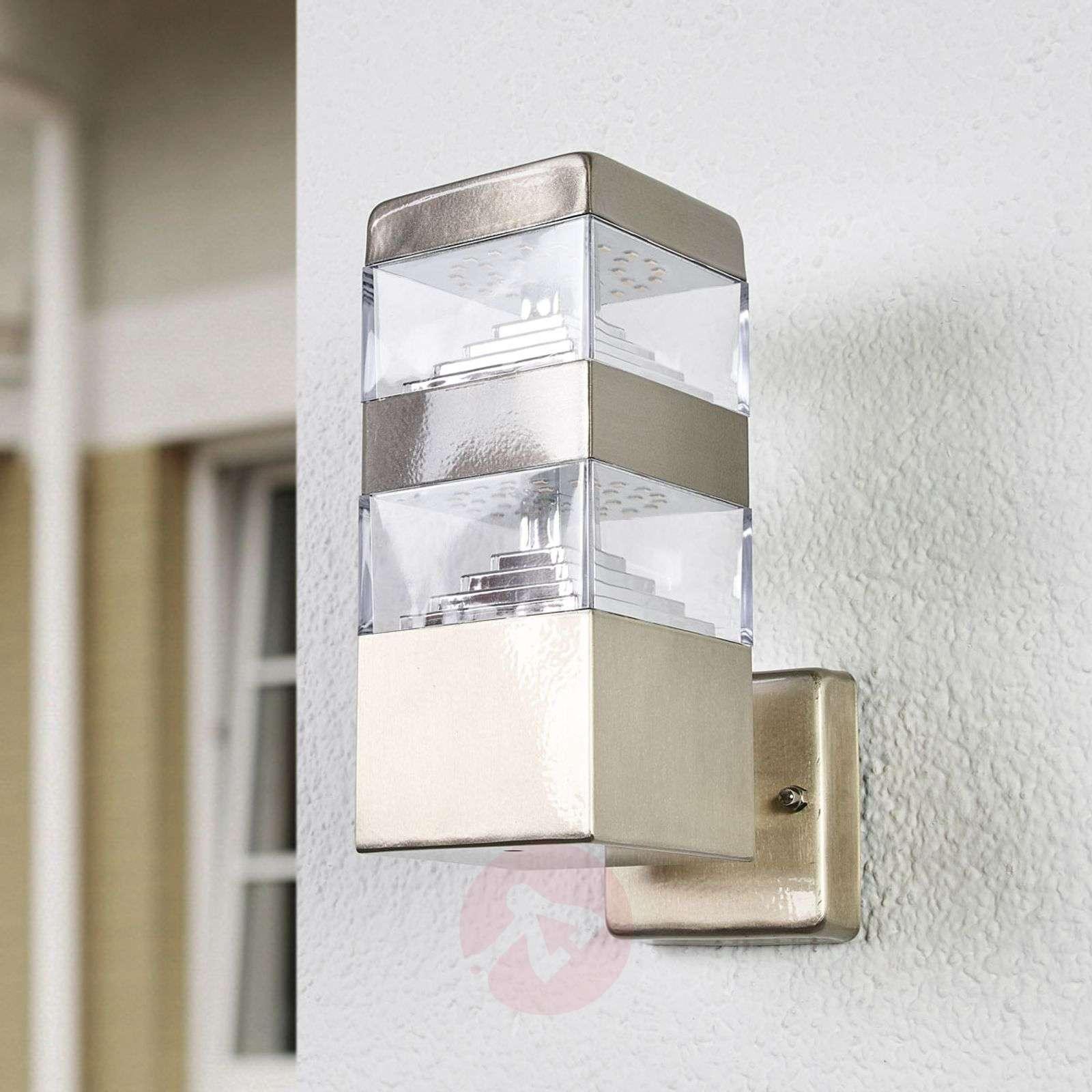 Linjakas Sinja-LED-seinävalaisin ulkokäyttöön