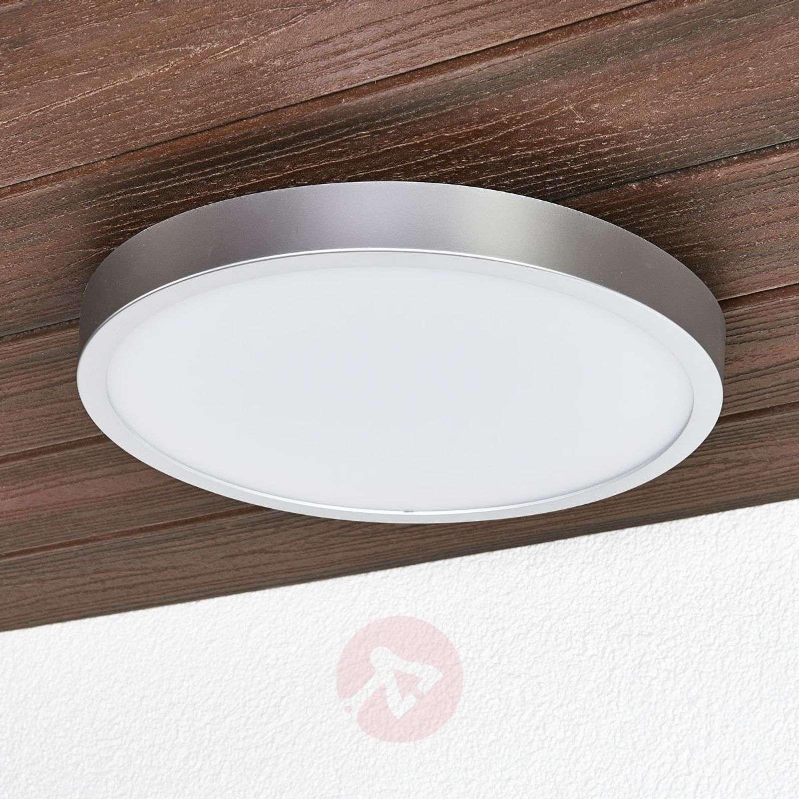 Liyan hopeinen LED-kattolamppu kylpyhuoneeseen-9945196-01