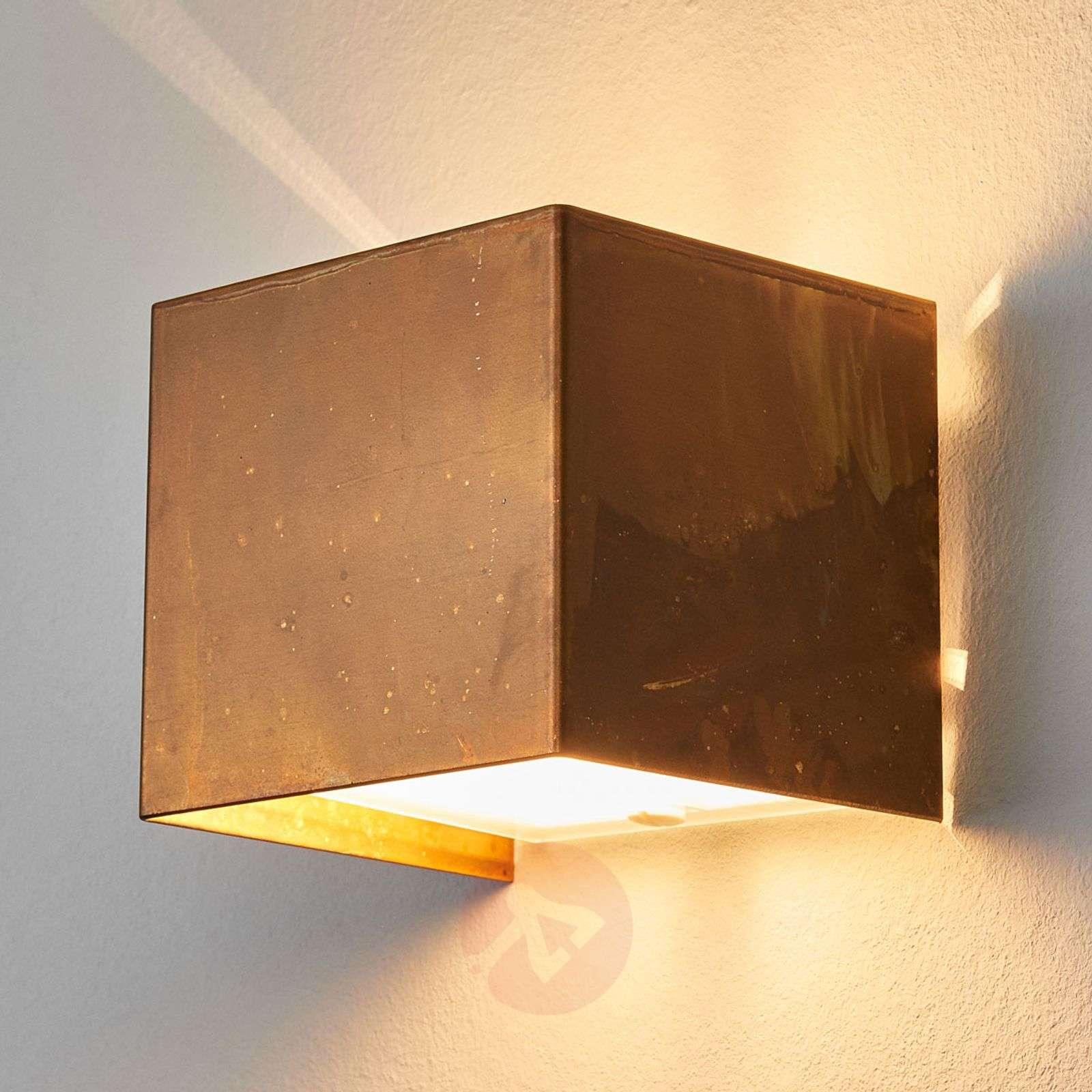 LOLA-seinävalaisin, oksidoitu messinki-4011107-01