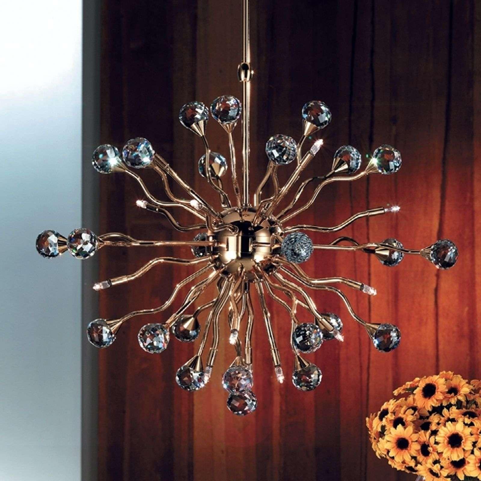 Luanee-riippuvalaisin, kulta, 58 cm
