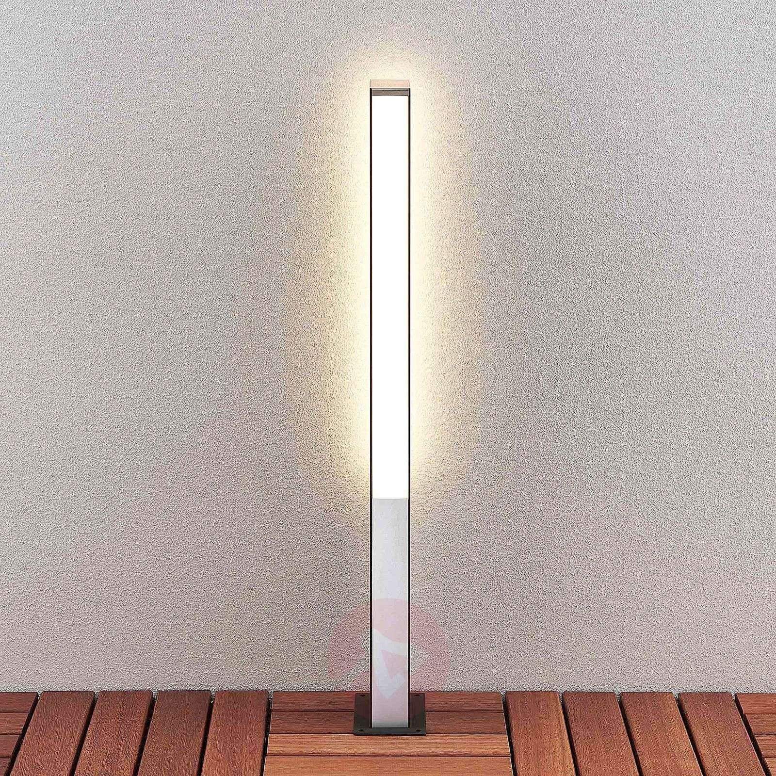 Lucande Aegisa-LED-pylväsvalaisin, 80 cm-9619184-02