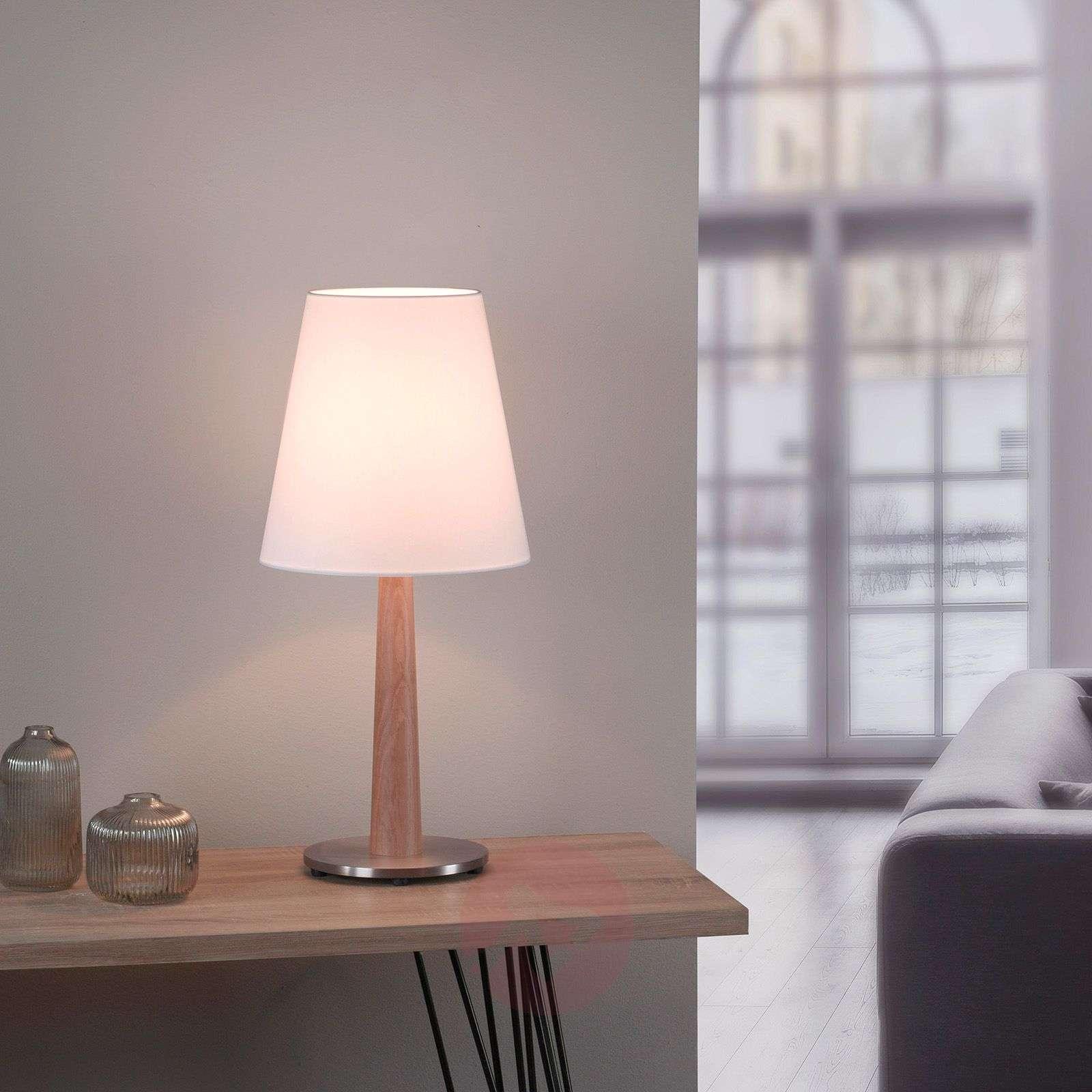 Lucande Elif-pöytä valkoinen kartiomainen luonnon-6722603-01