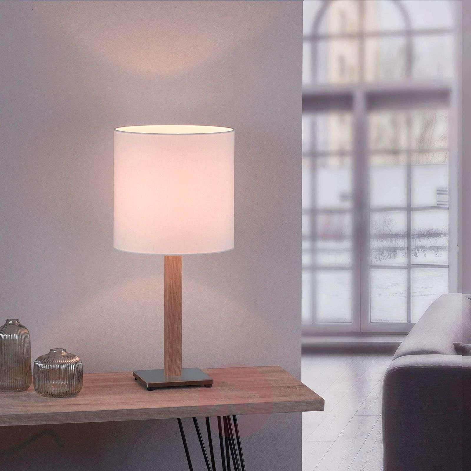 Lucande Elif-pöytä valkoinen kulmikas luonnon-6722606-01