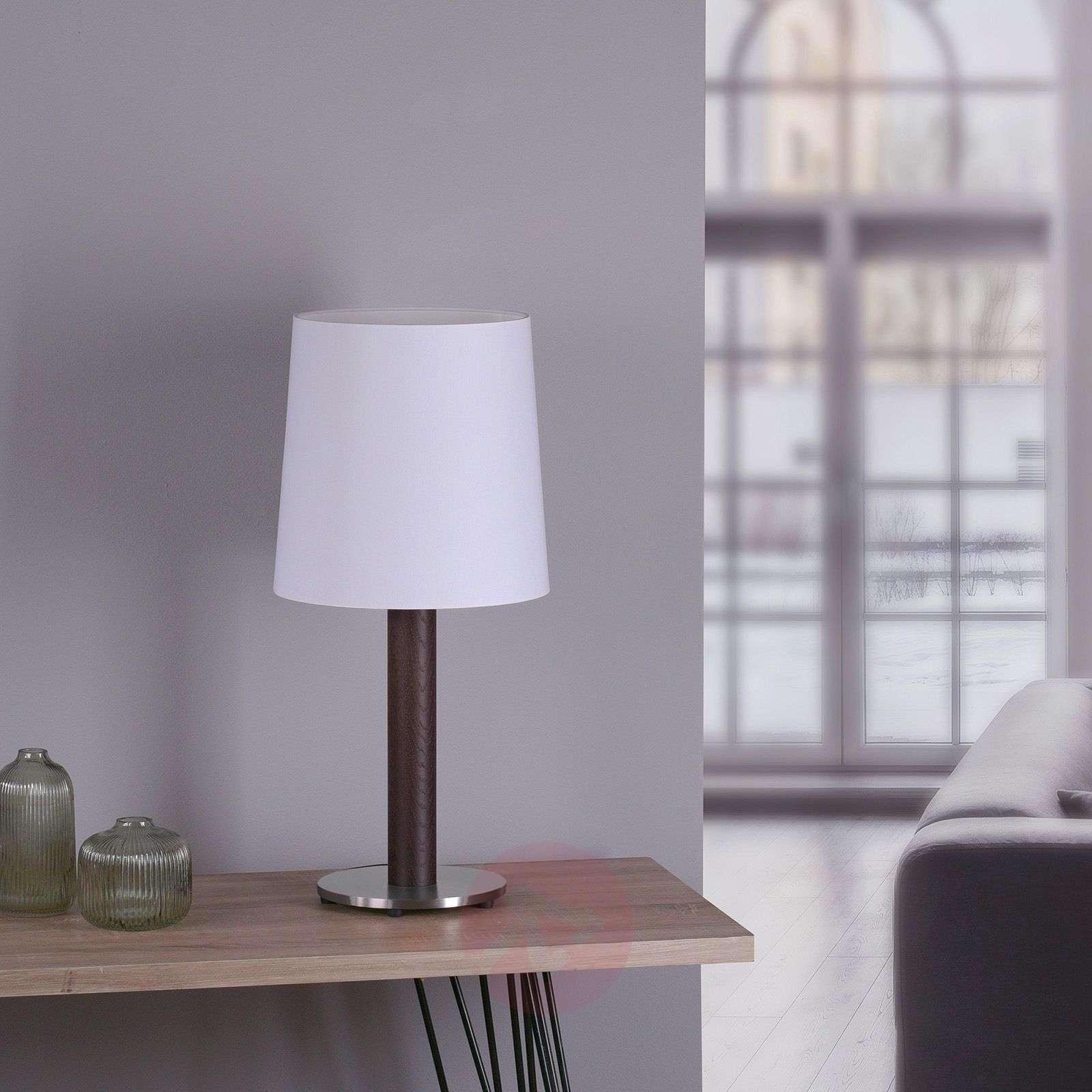 Lucande Elif-pöytä valkoinen sylinteri tumma-6722602-01