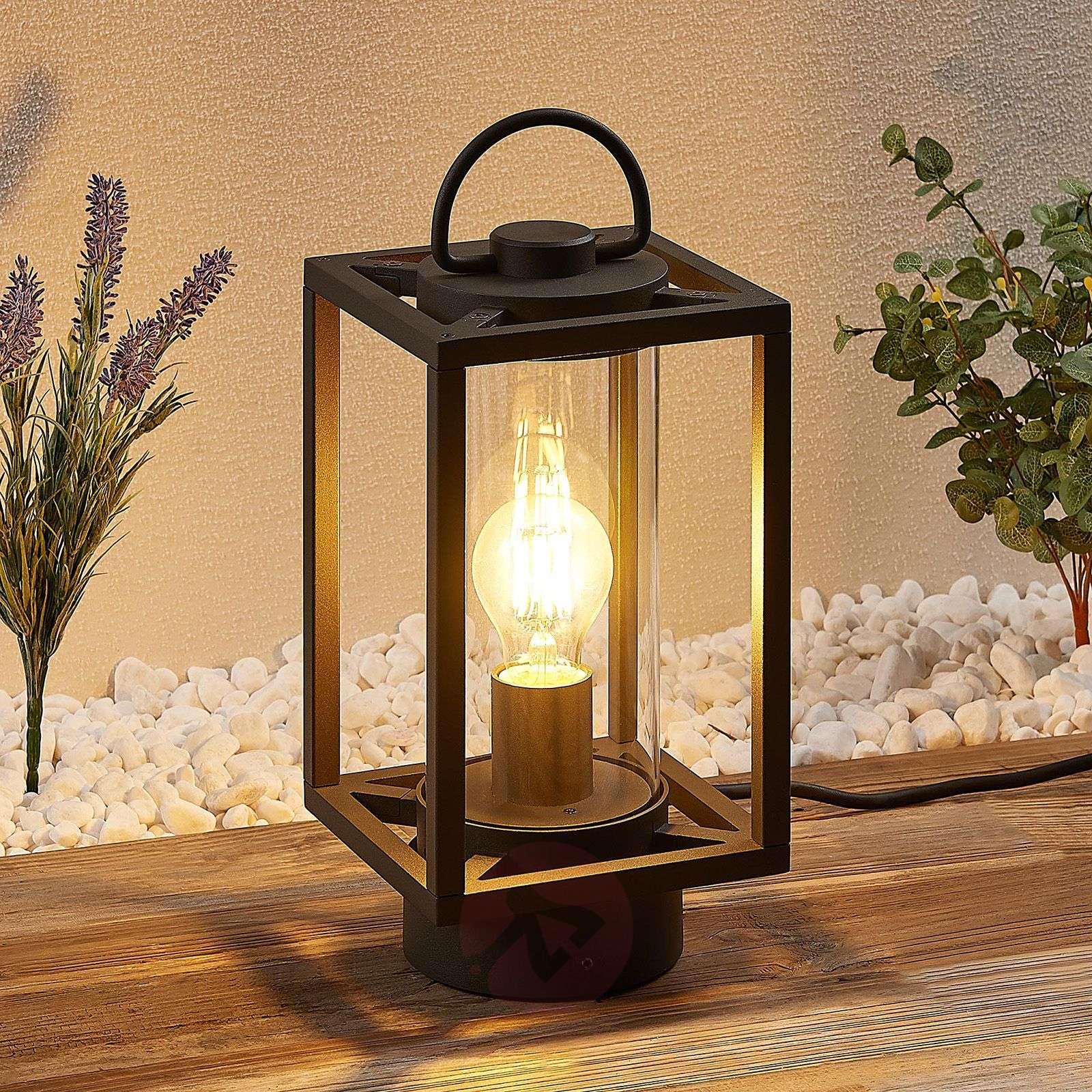 Lucande Ferda ulkopöytälamppu, kannettava-9619202-02