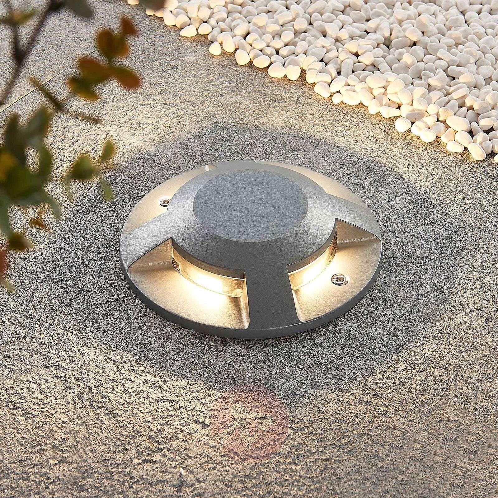 Lucande Jeffrey LED-lattiaspotti, 4-lamp.-9969170-02