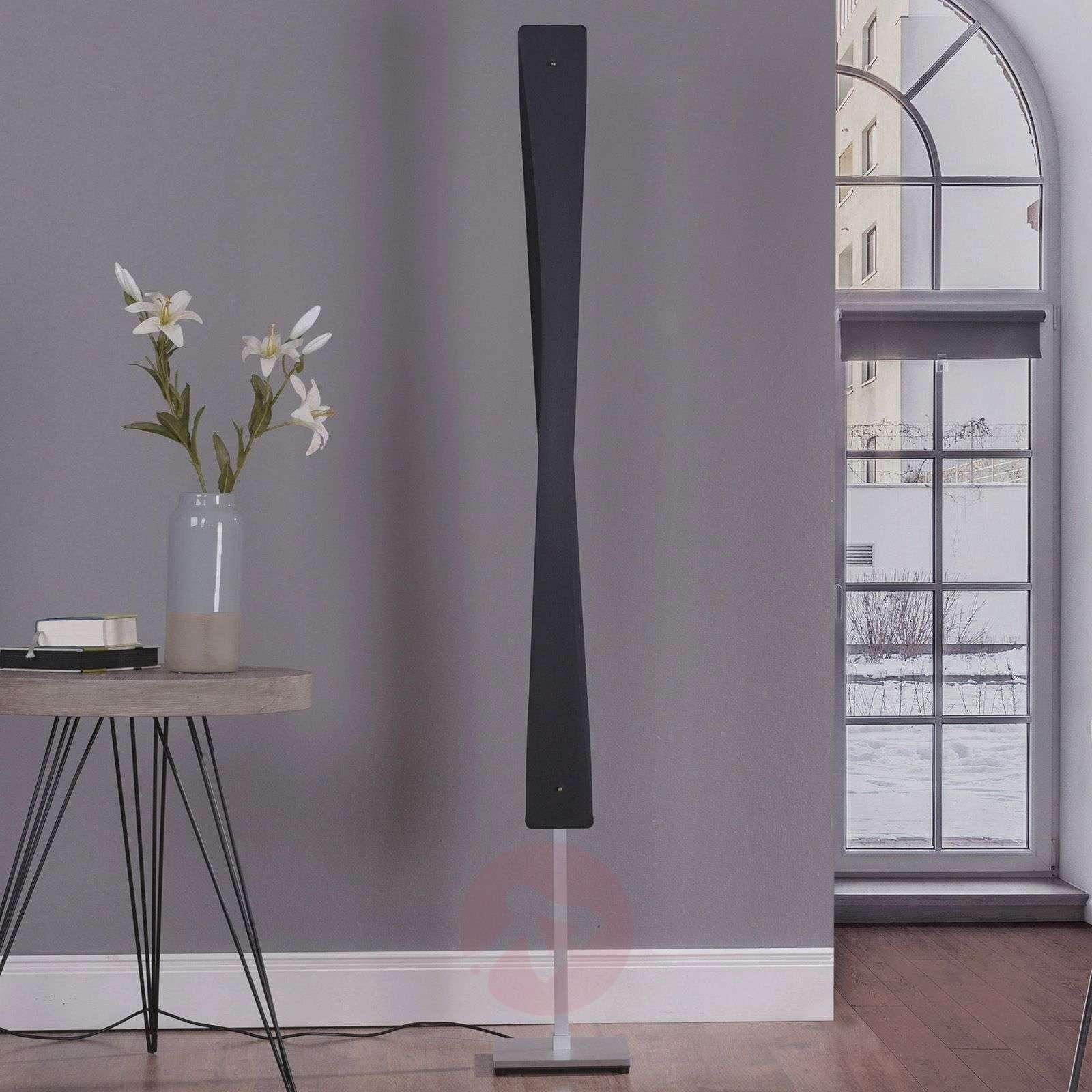 Lucande Lian LED-lattiavalaisin, musta, alumiini-6722551-01