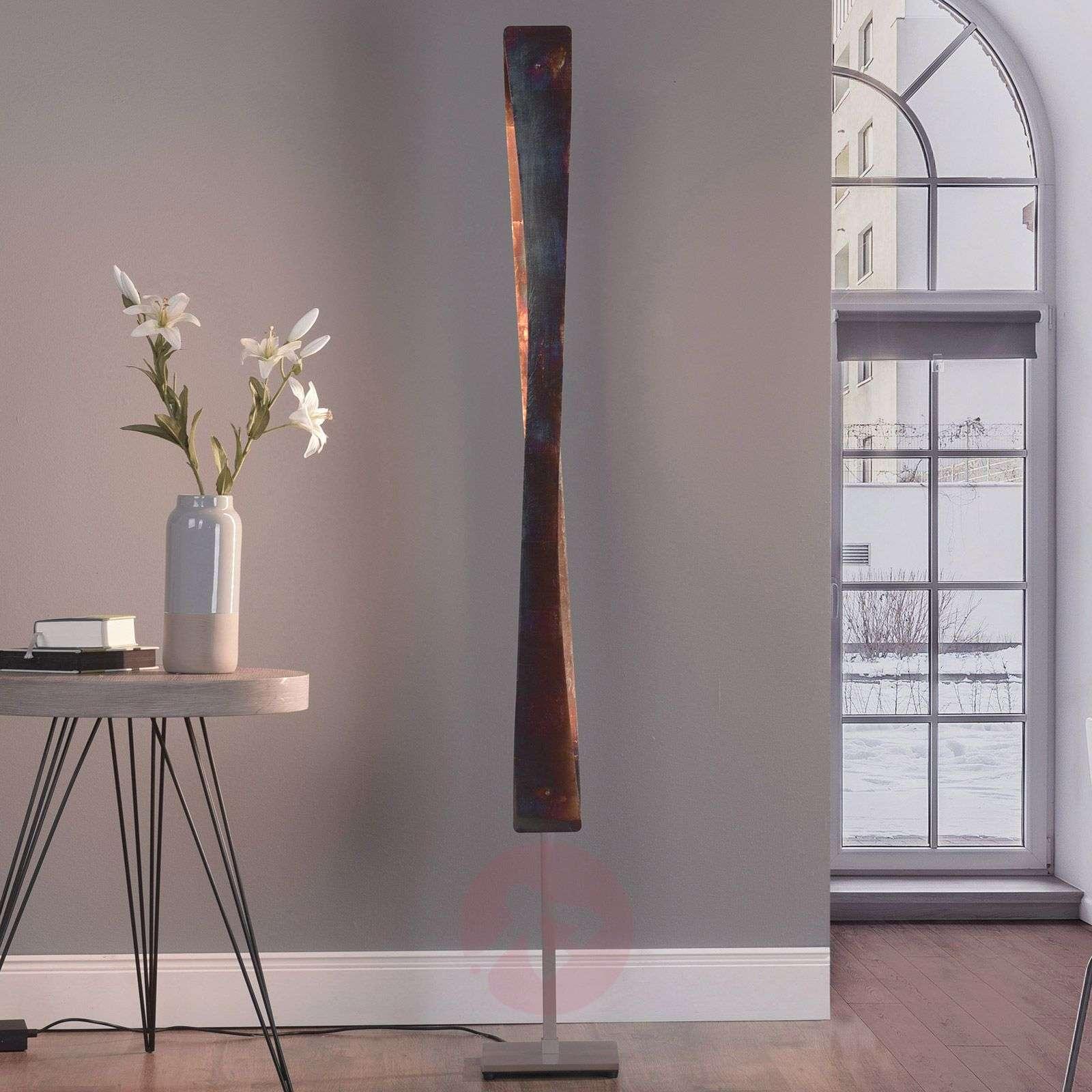 Lucande Lian LED-lattiavalaisin, oksidoitu kulta-6722556-01