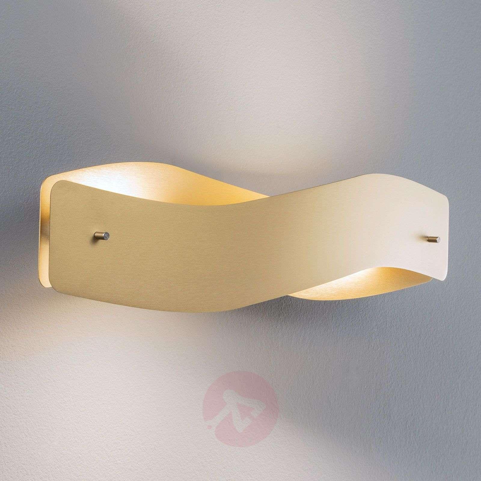 Lucande Lian LED-seinävalaisin, messinki-6722540-01