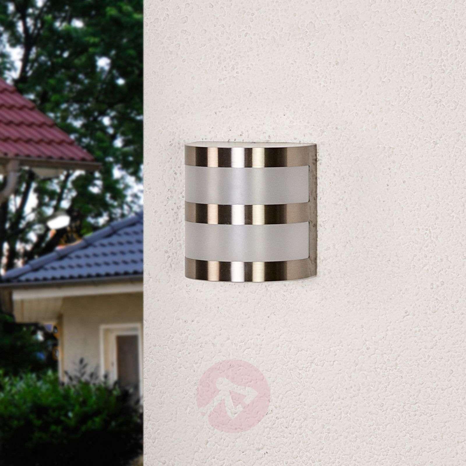 Lucja LED-ulkoseinävalaisin raidoilla-9972039-010