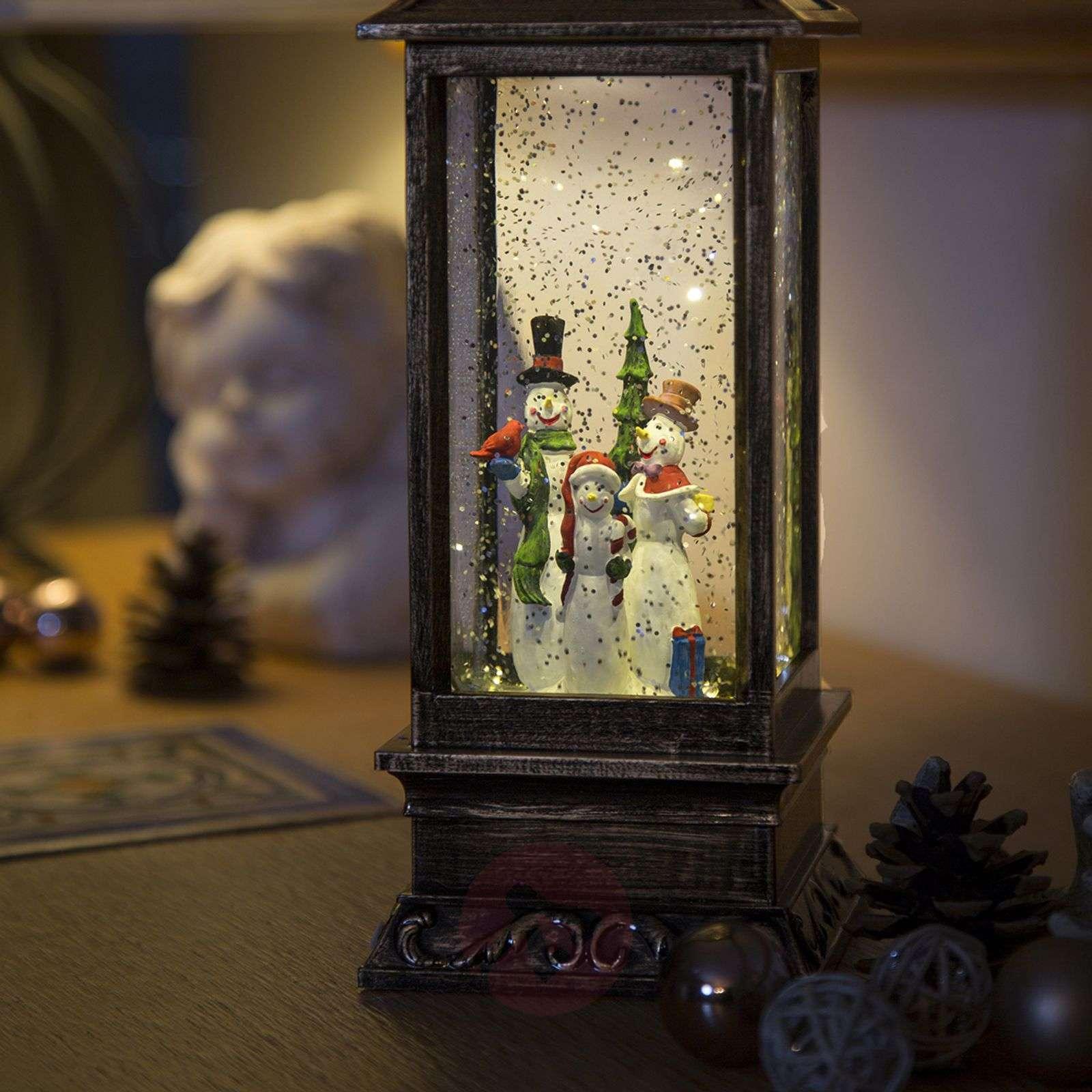 Lumiukkolyhty LED vesitäyttö paristokäyttöinen-5524572-01
