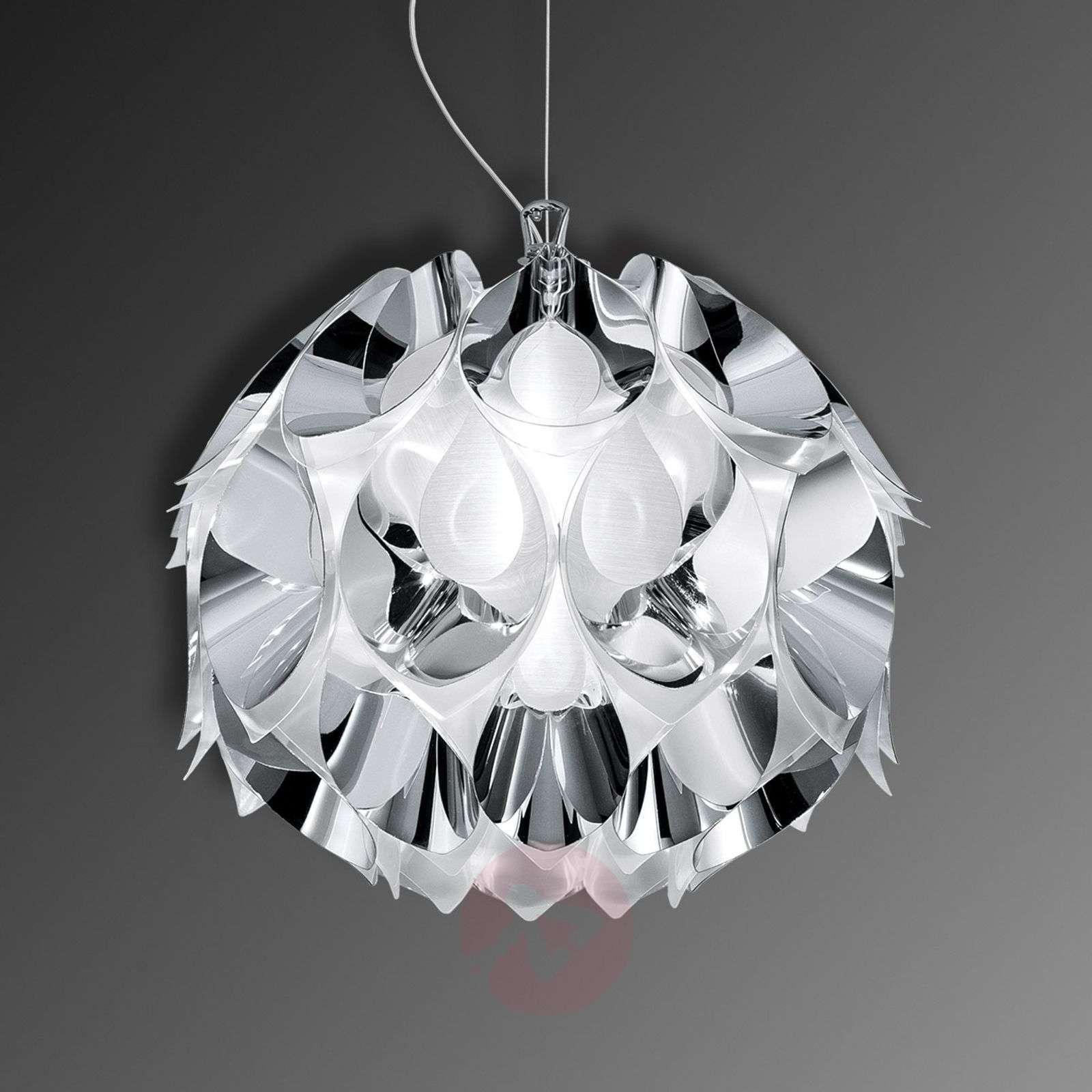 Lumoava Flora-riippuvalaisin, hopea, 36 cm-8503235-01