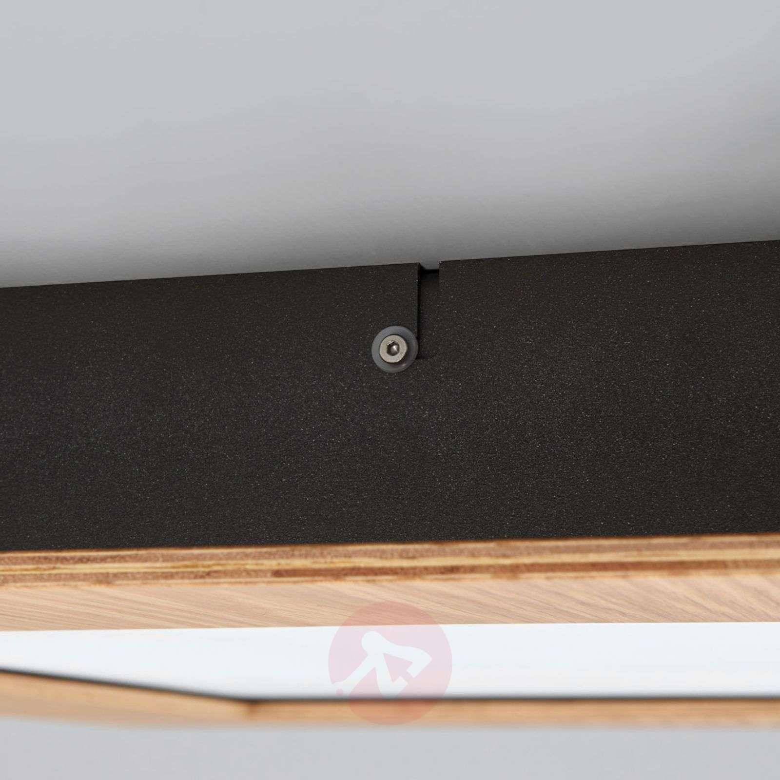 Luonnollinen LED-paneeli Deno puukehyksellä-6722366-01