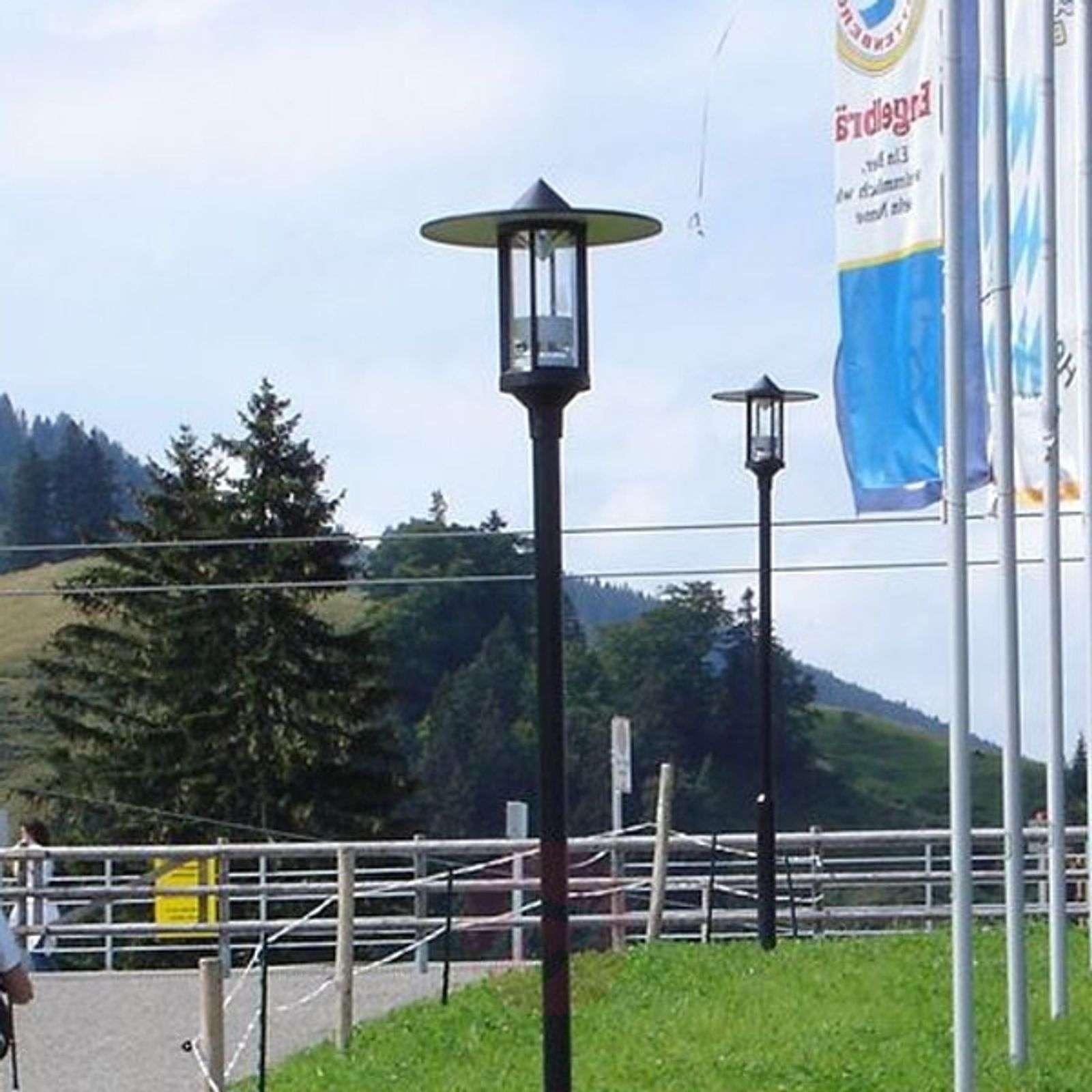 Lyhtypylvään lisävalaisin, 1-lamppuinen-4001016X-01